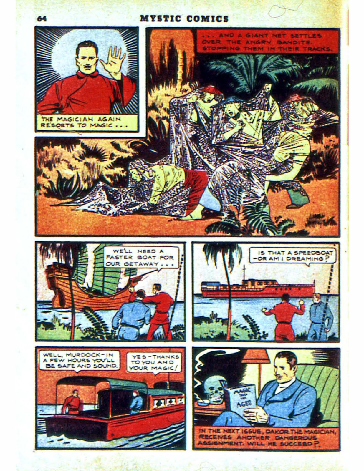 Mystic Comics (1940) issue 2 - Page 66
