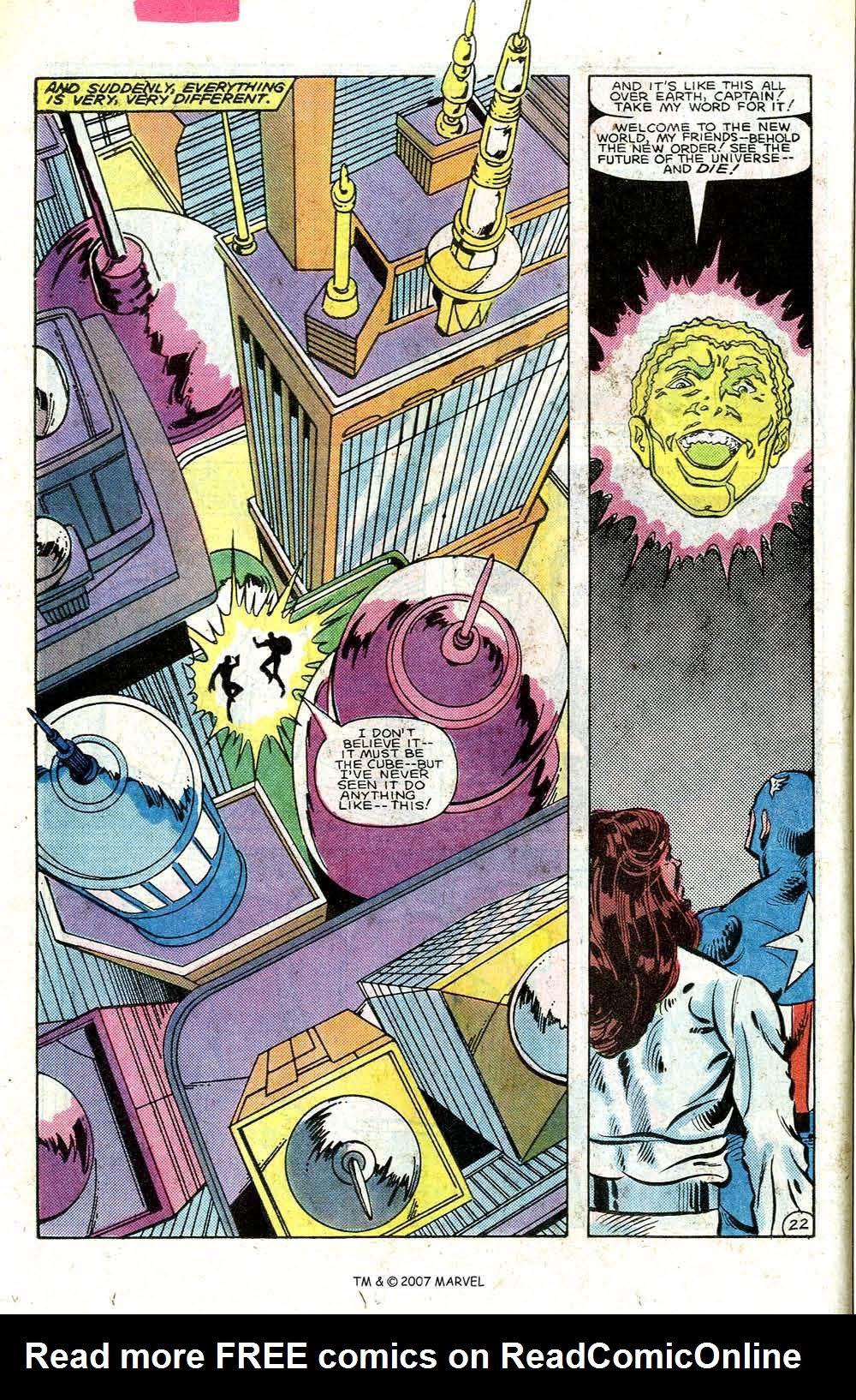 Read online Captain America (1968) comic -  Issue # _Annual 7 - 30