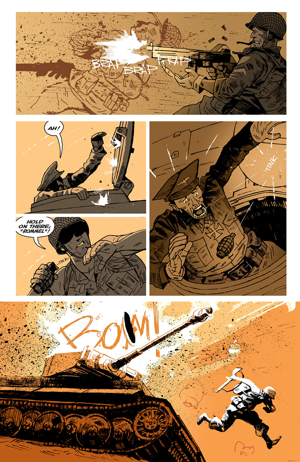 Read online Sledgehammer 44 comic -  Issue #2 - 5