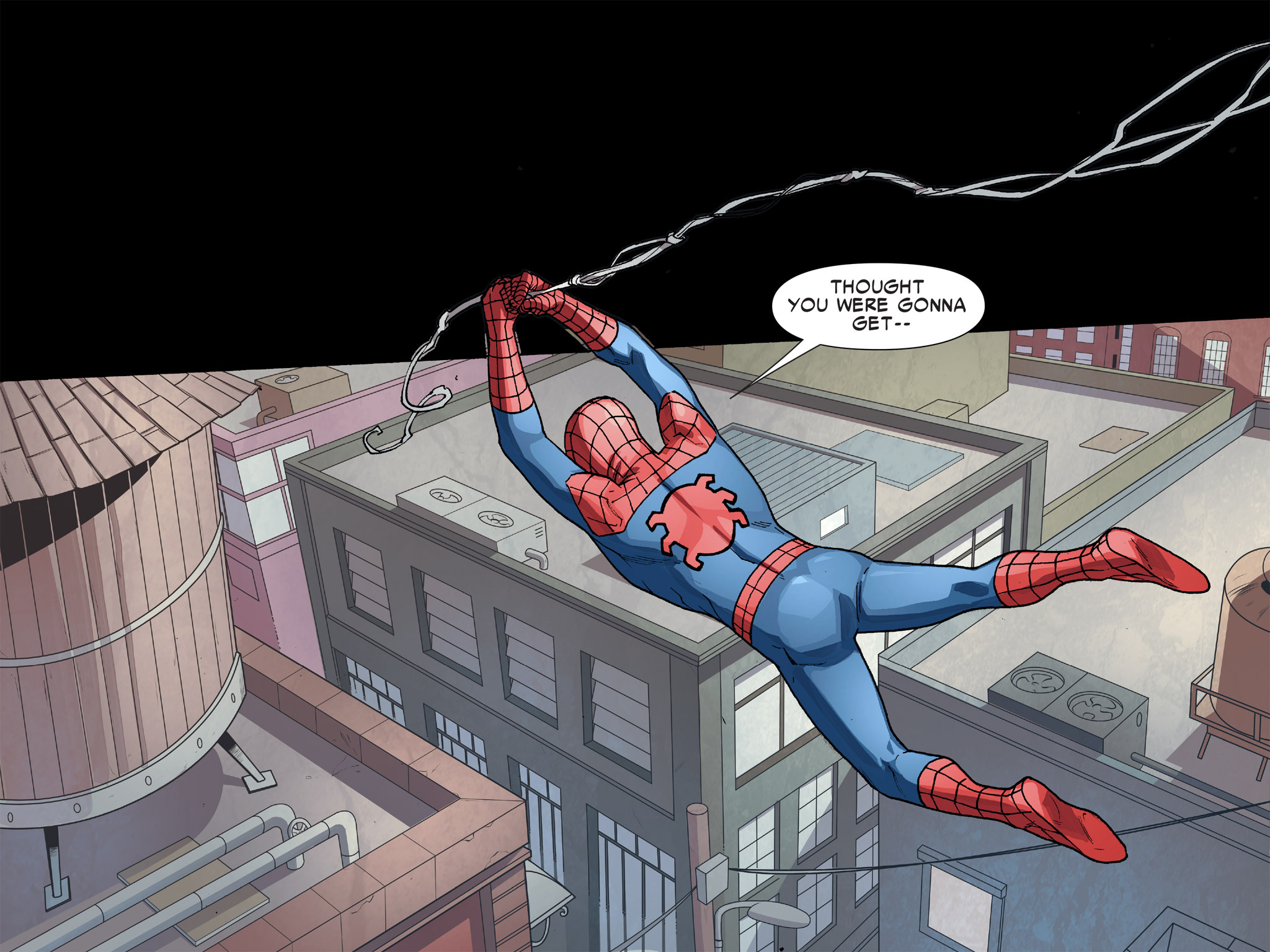 Read online Ultimate Spider-Man (Infinite Comics) (2016) comic -  Issue #8 - 12