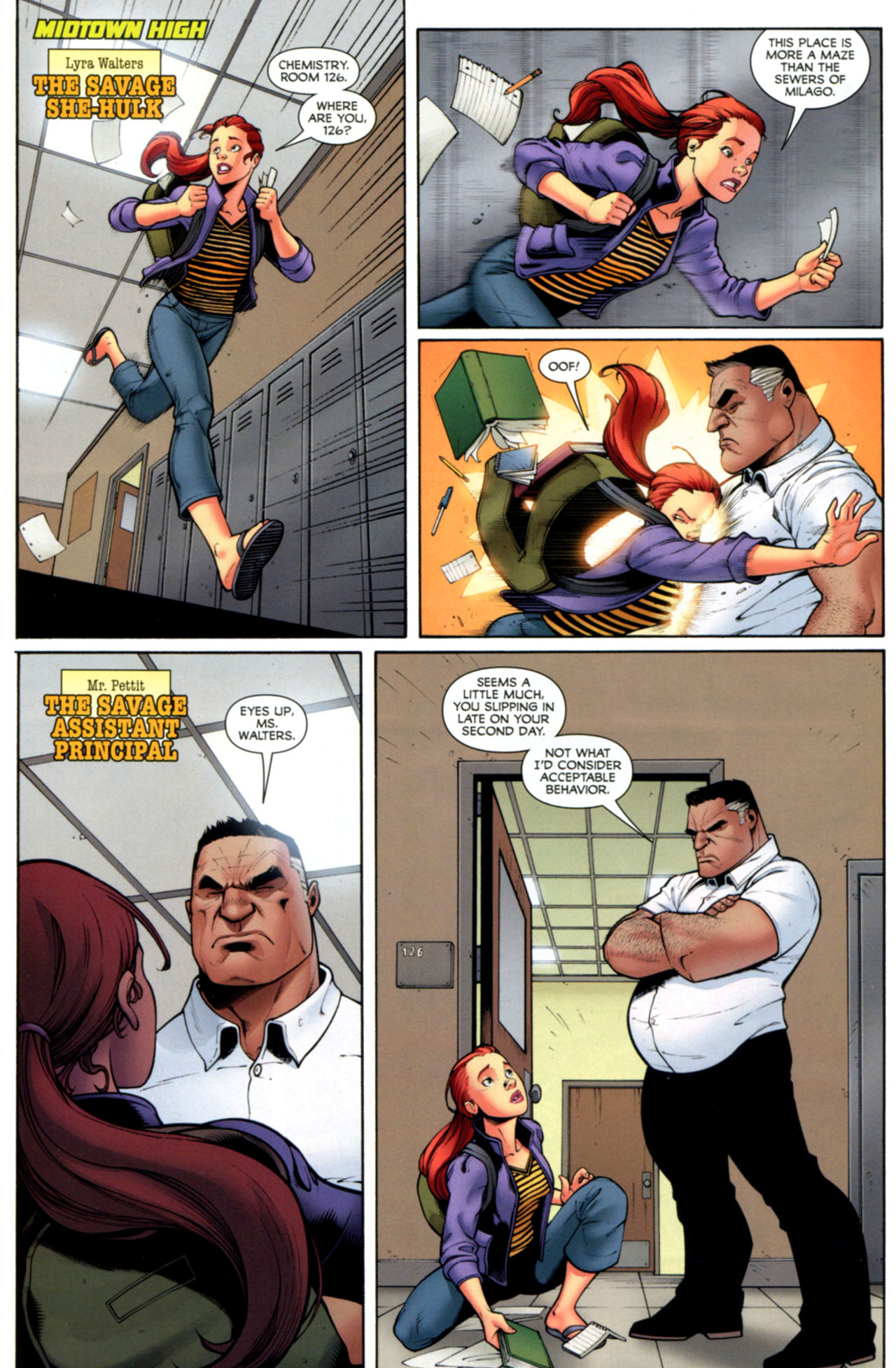 Read online She-Hulks comic -  Issue #2 - 5