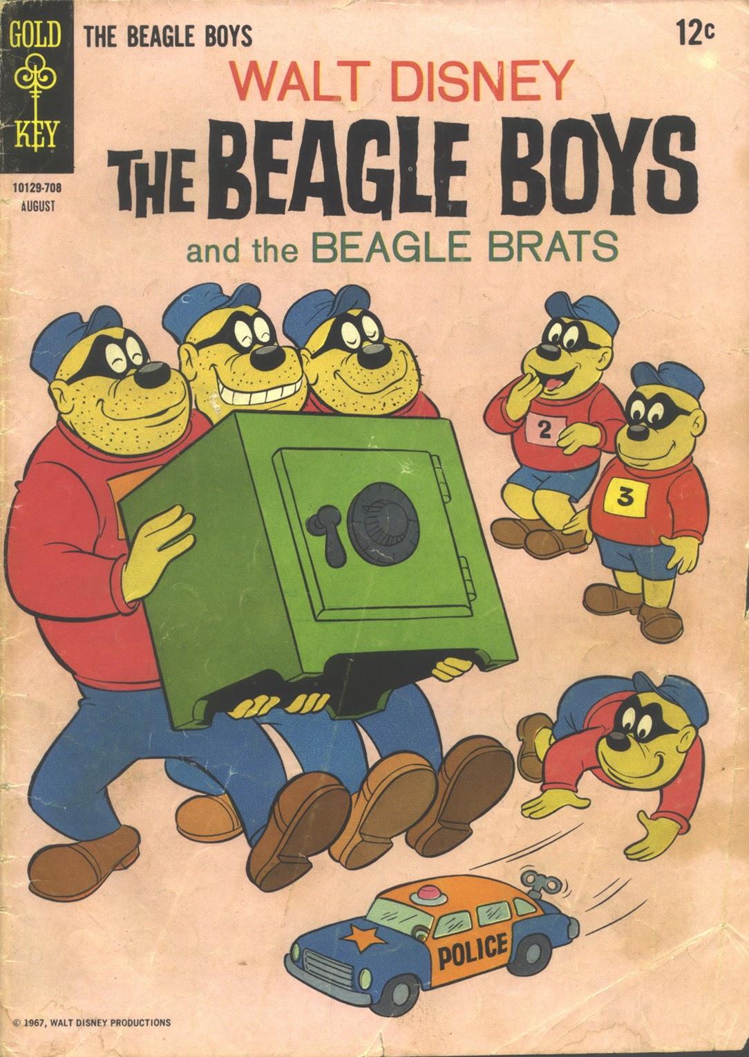 Walt Disney THE BEAGLE BOYS issue 7 - Page 1