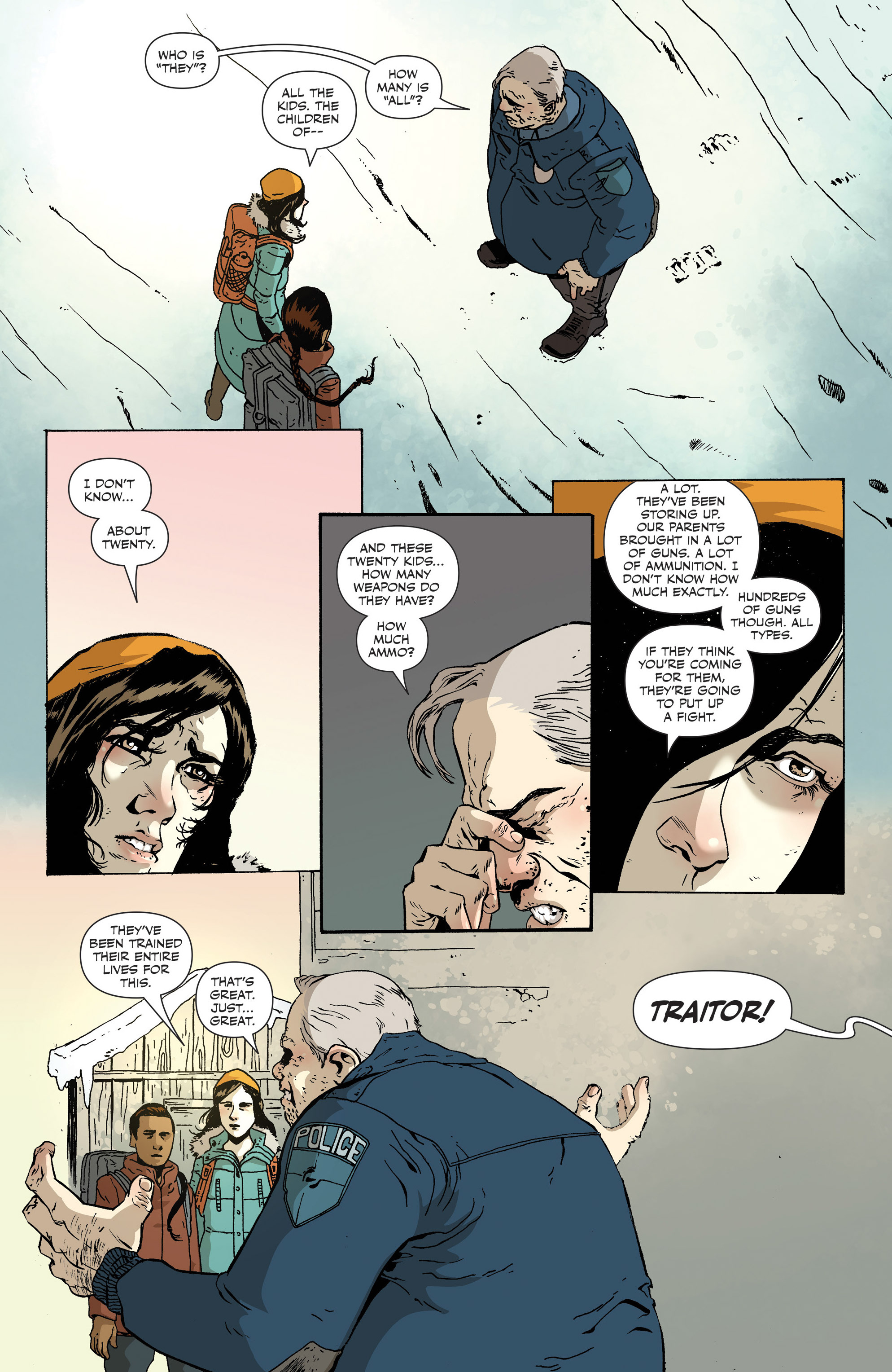 Read online Sheltered comic -  Issue #12 - 19