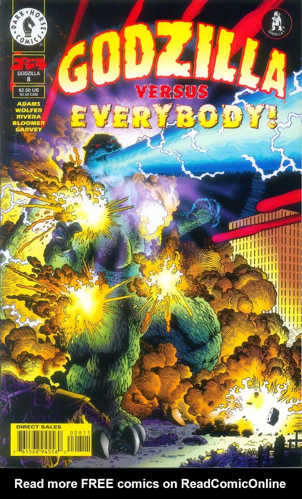 Godzilla (1995) Issue #8 #9 - English 1