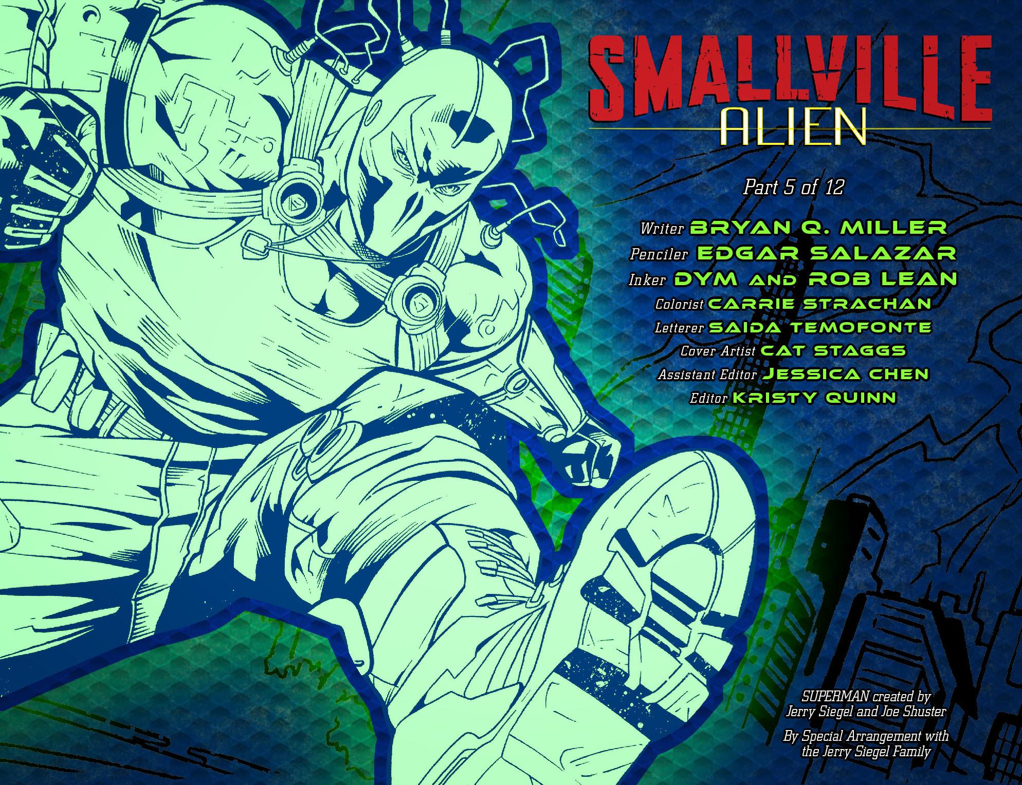 Read online Smallville: Alien comic -  Issue #5 - 2