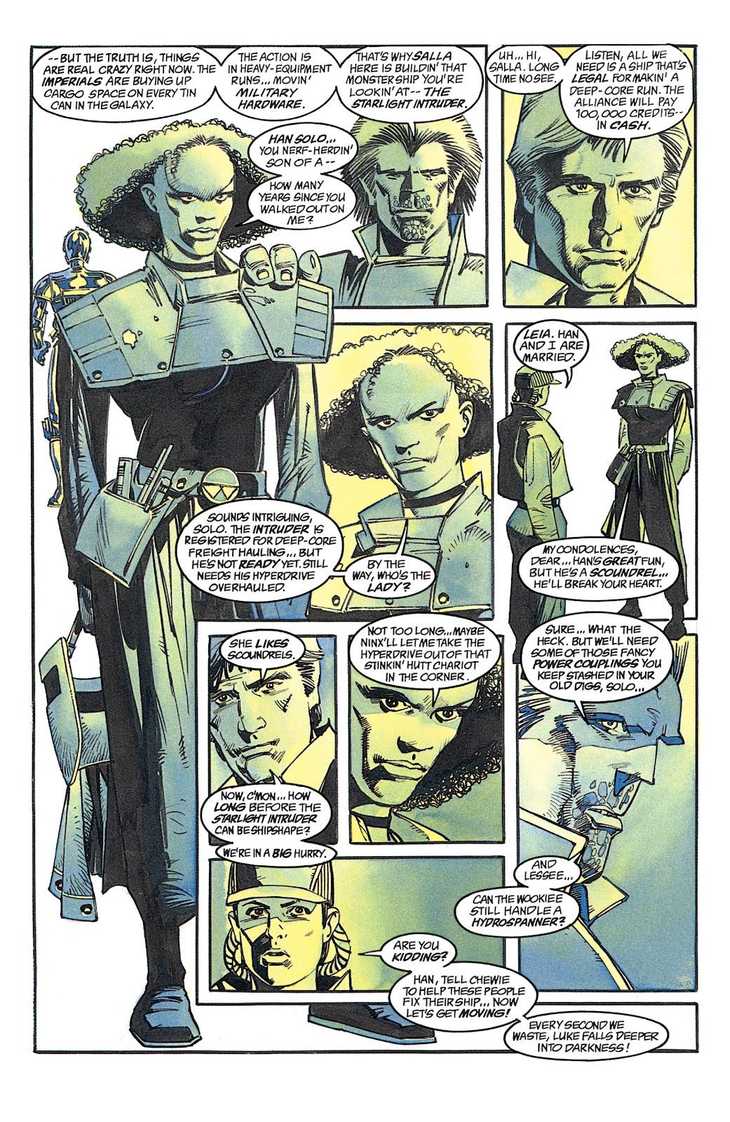 Read online Star Wars: Dark Empire Trilogy comic -  Issue # TPB (Part 1) - 77