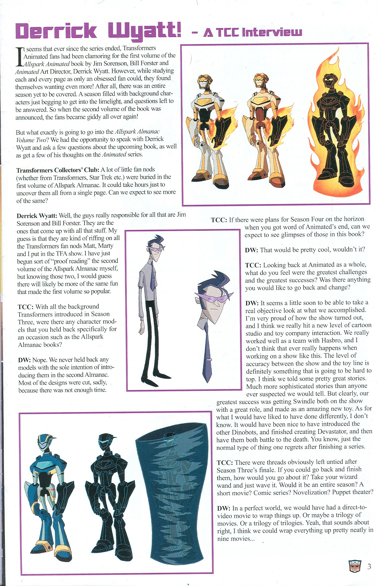 Read online Transformers: Collectors' Club comic -  Issue #32 - 3