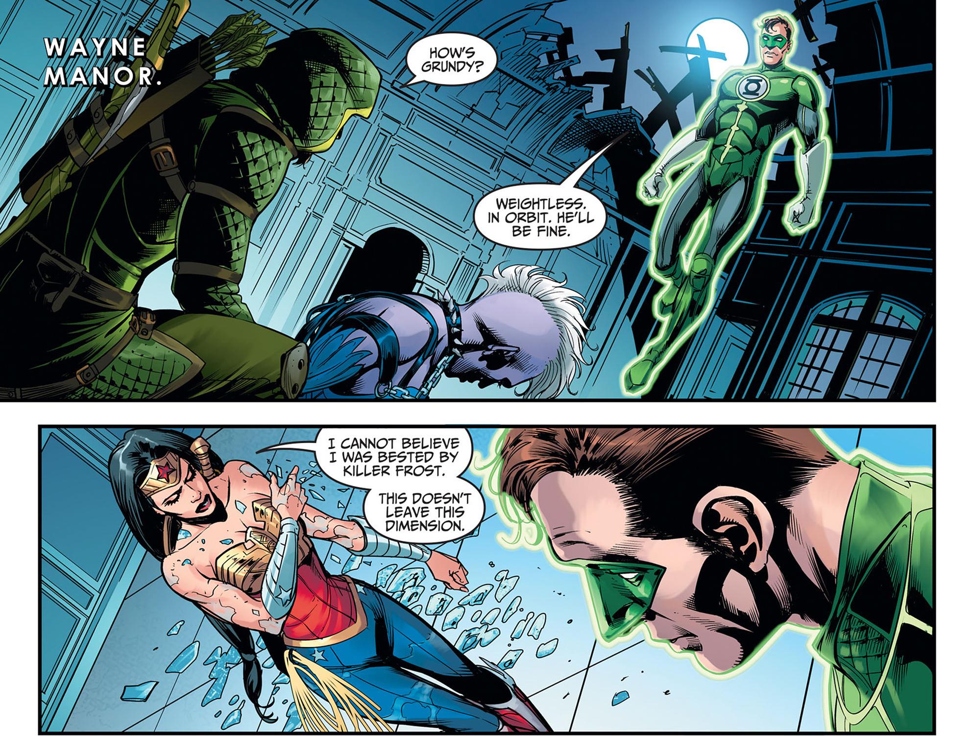 Read online Injustice: Ground Zero comic -  Issue #11 - 10