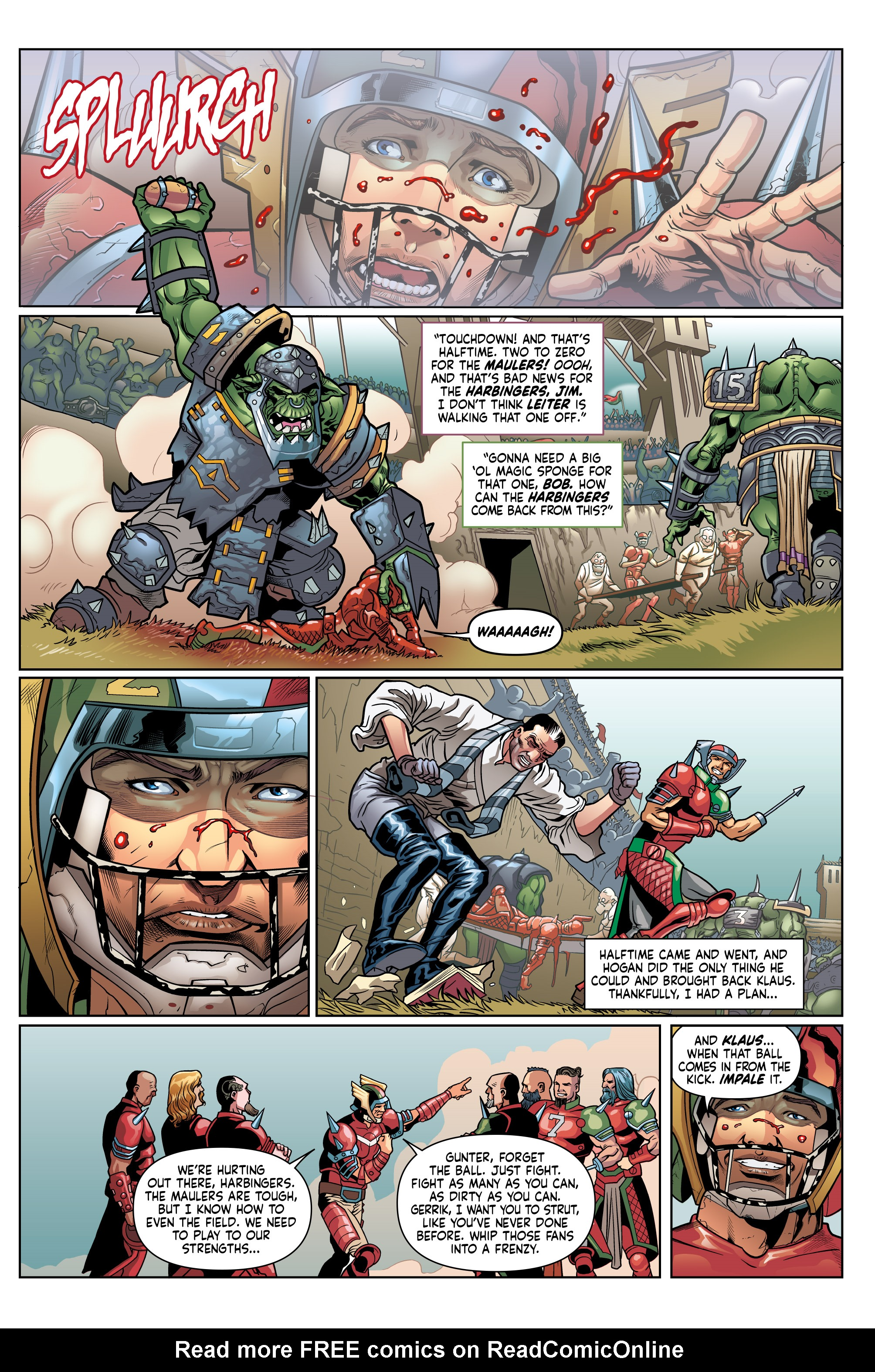 Read online Blood Bowl: More Guts, More Glory! comic -  Issue #1 - 26