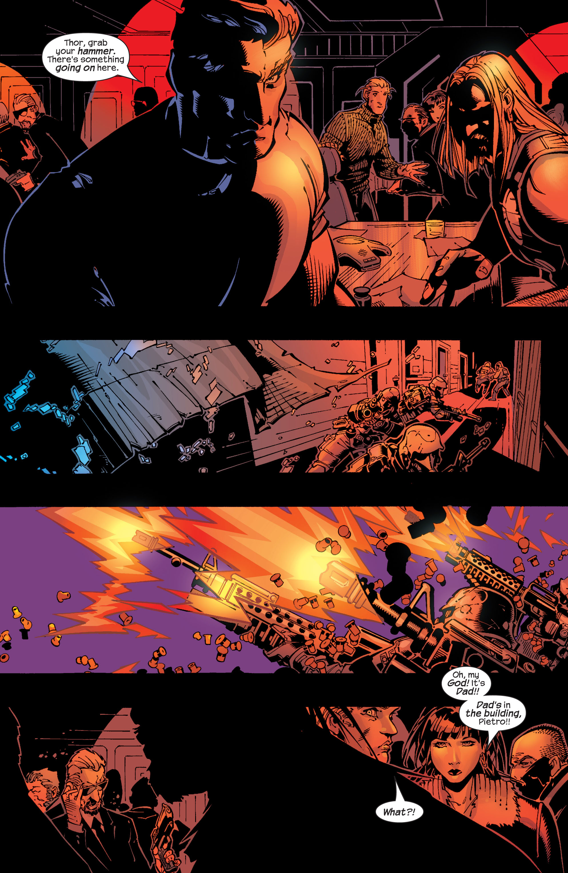Read online Ultimate War comic -  Issue #2 - 17