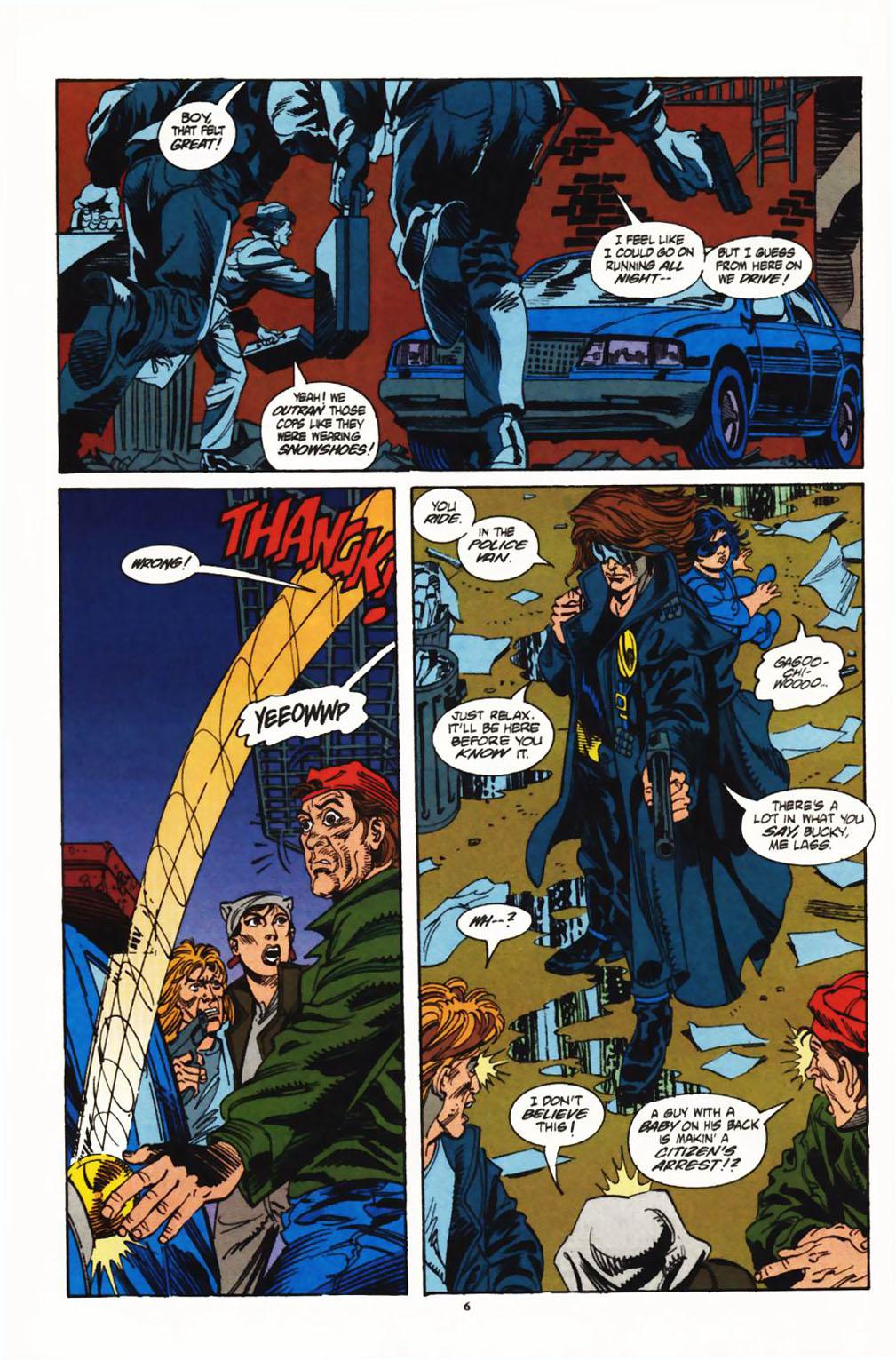 Read online Secret Defenders comic -  Issue #1 - 6