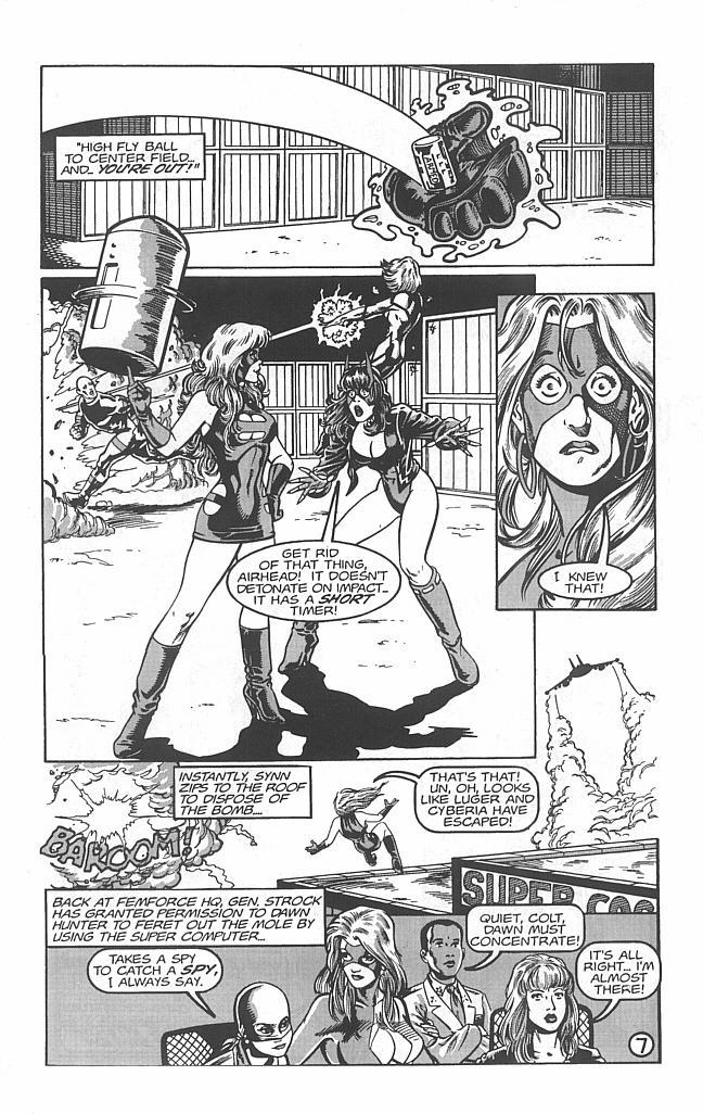 Femforce Issue #112 #112 - English 9