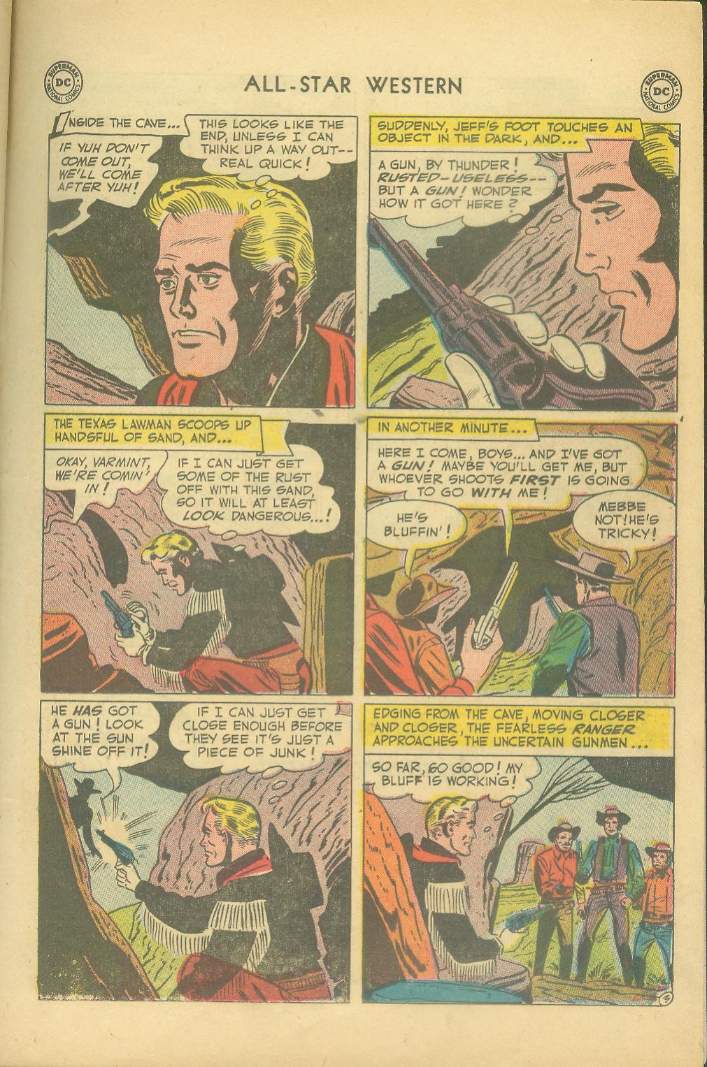 Read online All-Star Western (1951) comic -  Issue #65 - 23