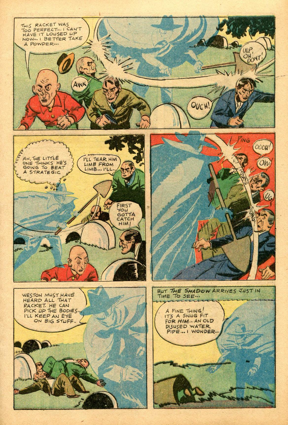Read online Shadow Comics comic -  Issue #69 - 11