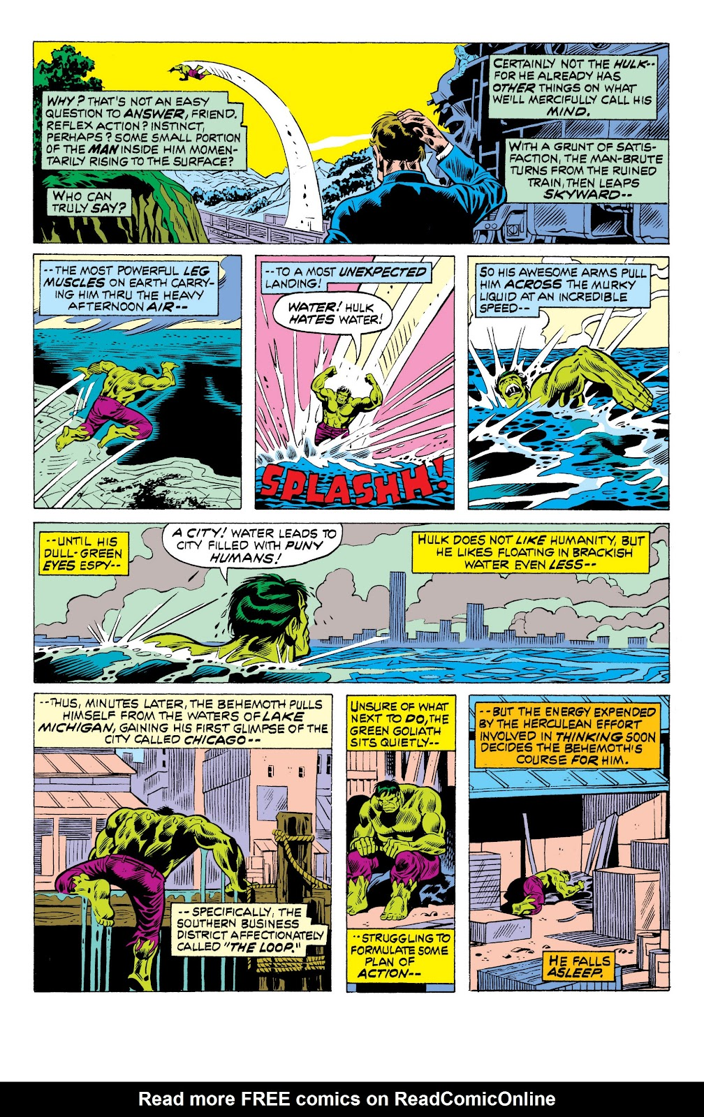 Read online Marvel Masterworks: The Incredible Hulk comic -  Issue # TPB 10 (Part 3) - 44