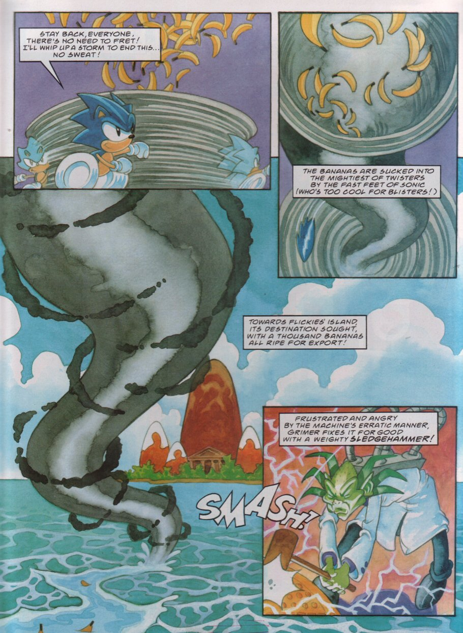 Read online Sonic the Comic comic -  Issue #112 - 19