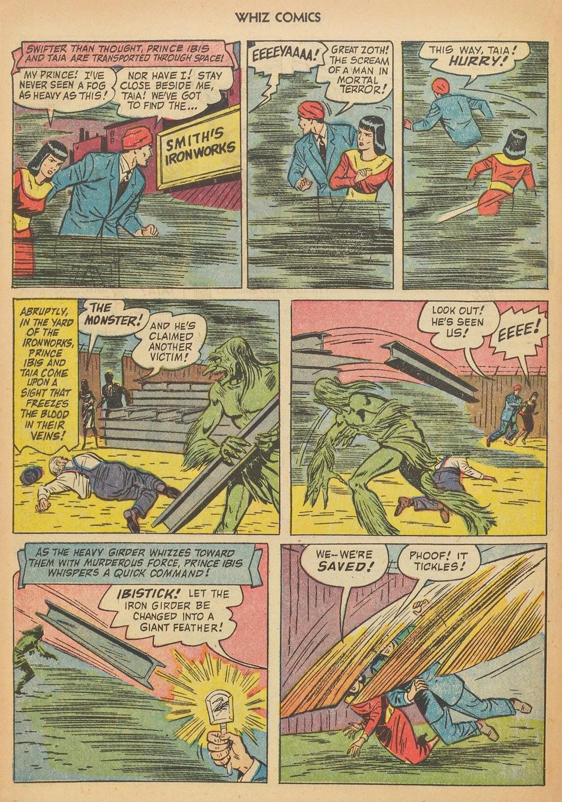 Read online WHIZ Comics comic -  Issue #153 - 12