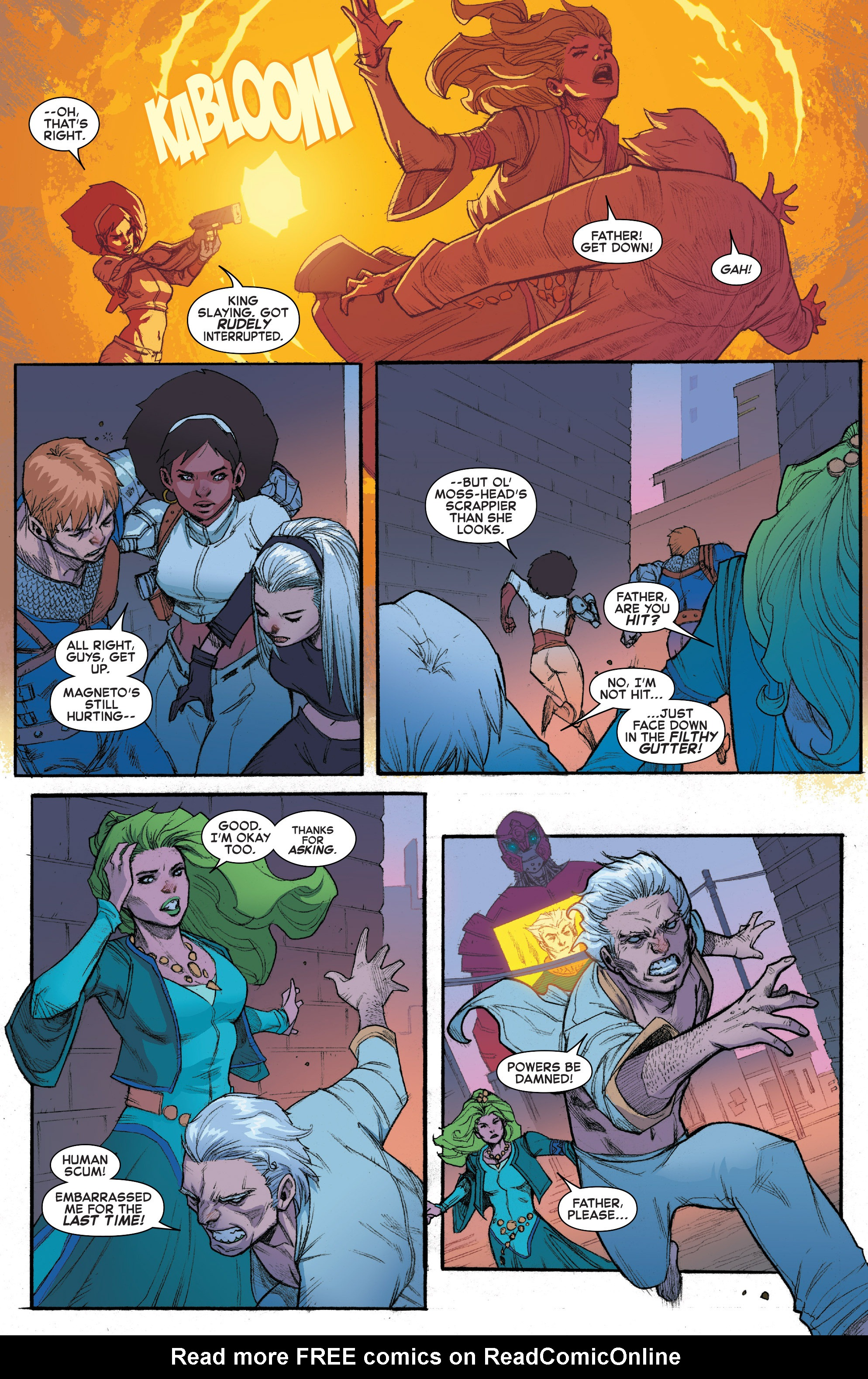 Read online House of M (2015) comic -  Issue #3 - 12