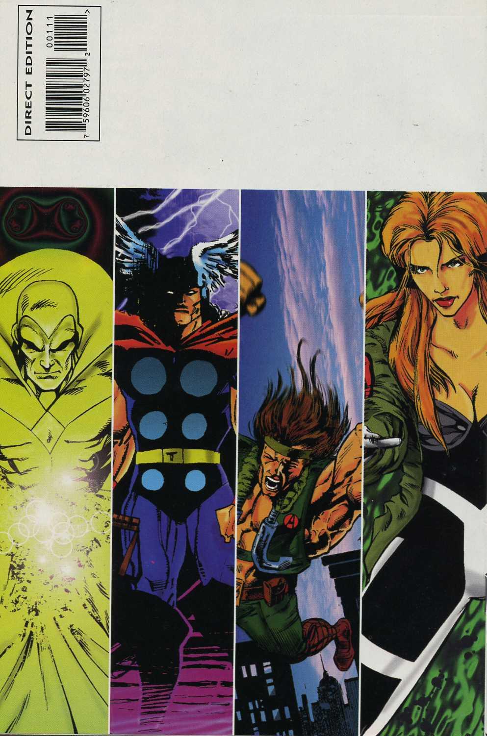 Read online Avengers Strike File comic -  Issue # Full - 35