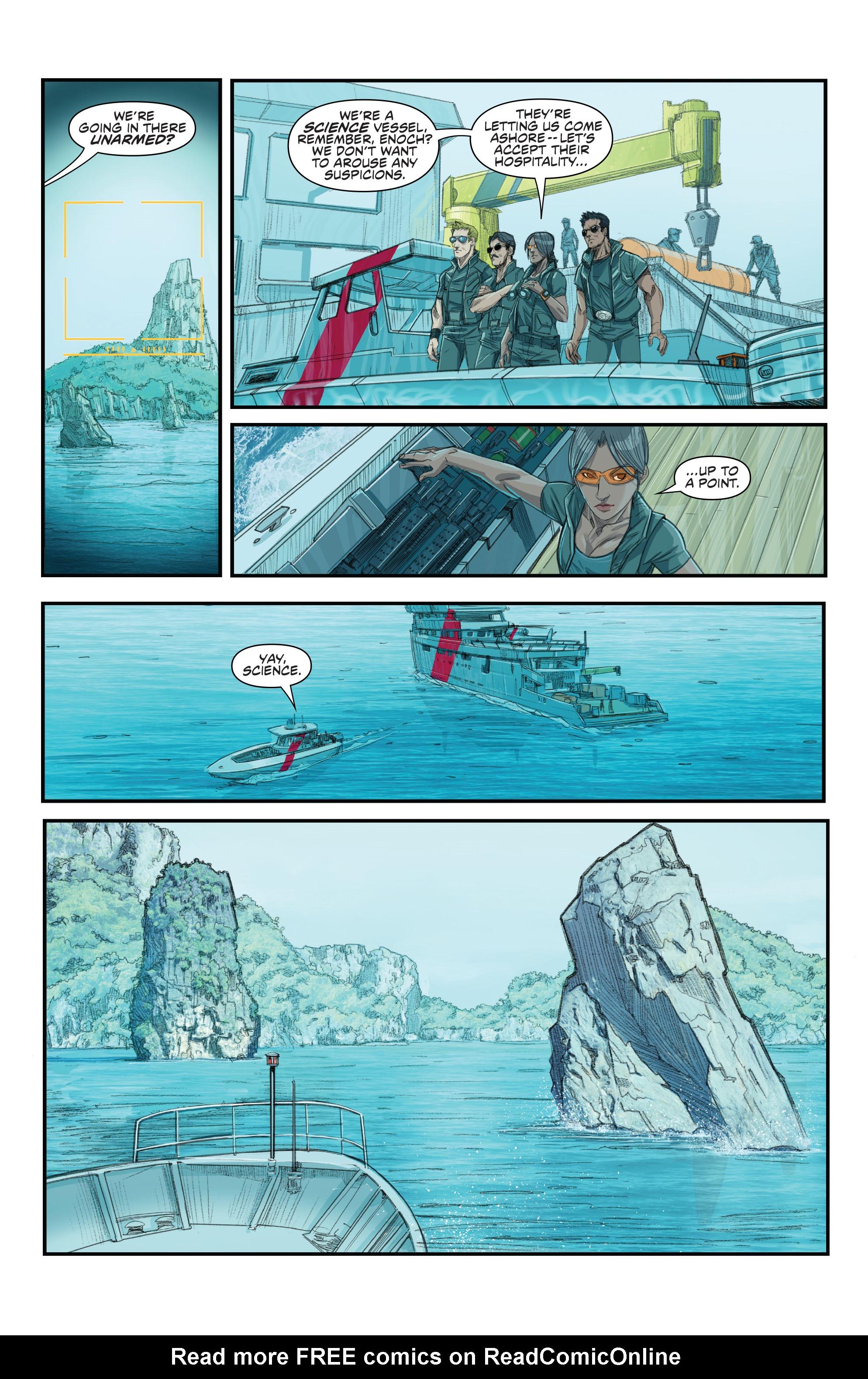 Read online Predator: Hunters comic -  Issue #2 - 21