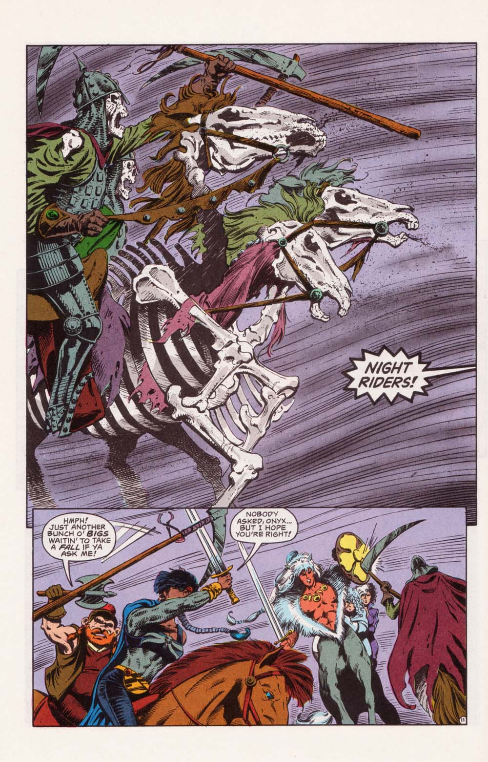 Read online Advanced Dungeons & Dragons comic -  Issue #22 - 11
