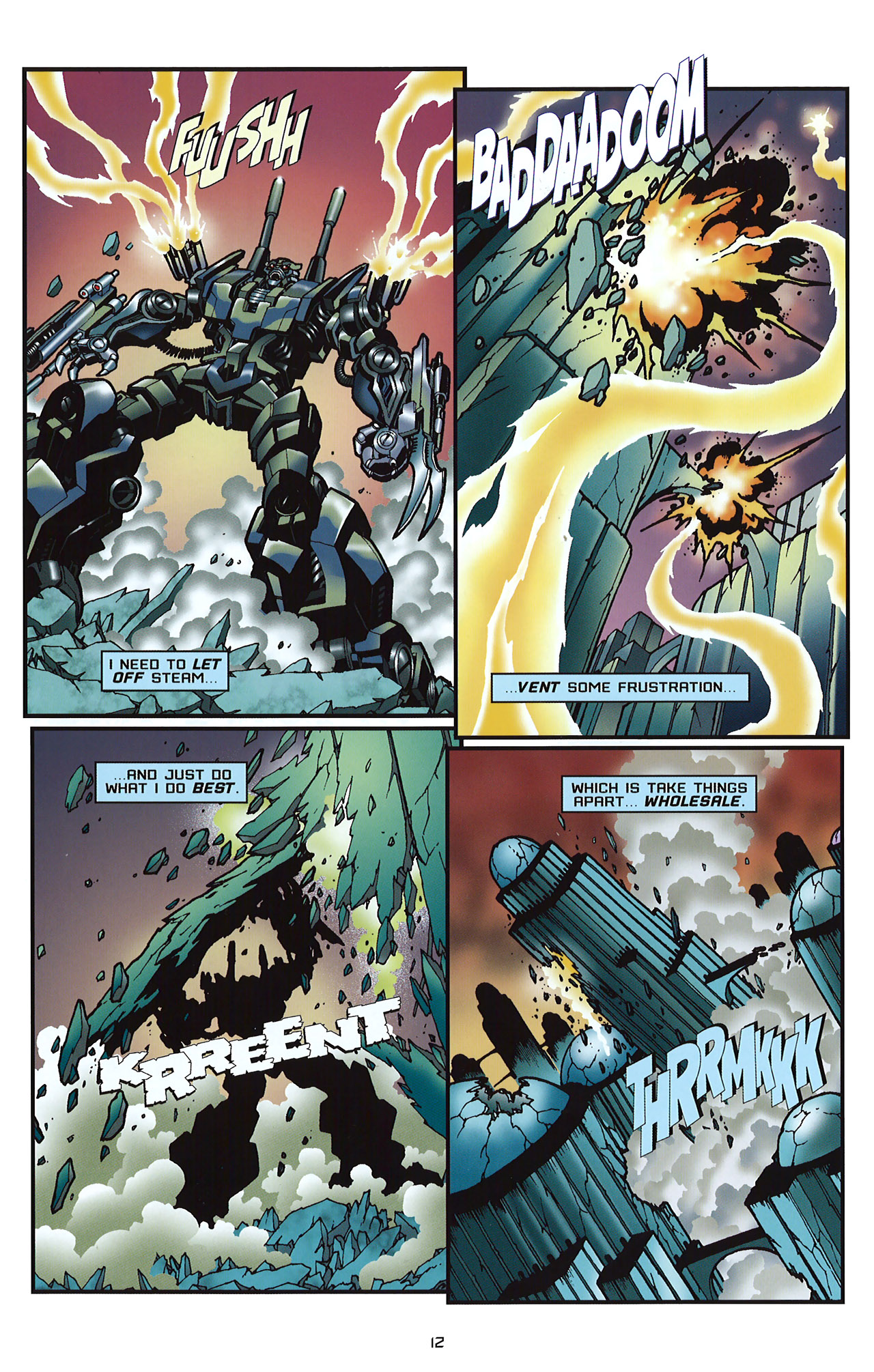 Read online Transformers: Saga of the Allspark comic -  Issue #2 - 15