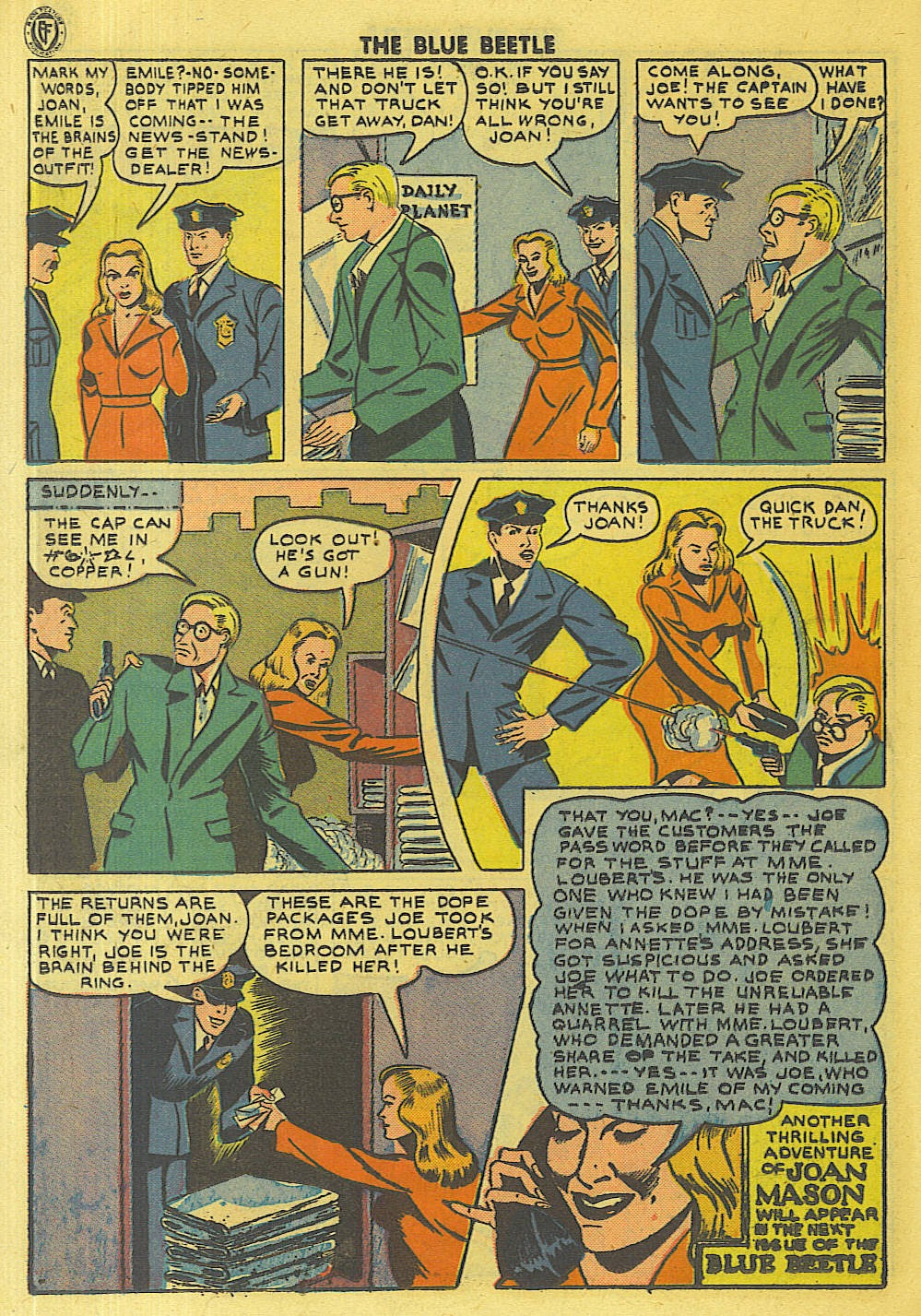 The Blue Beetle issue 35 - Page 29