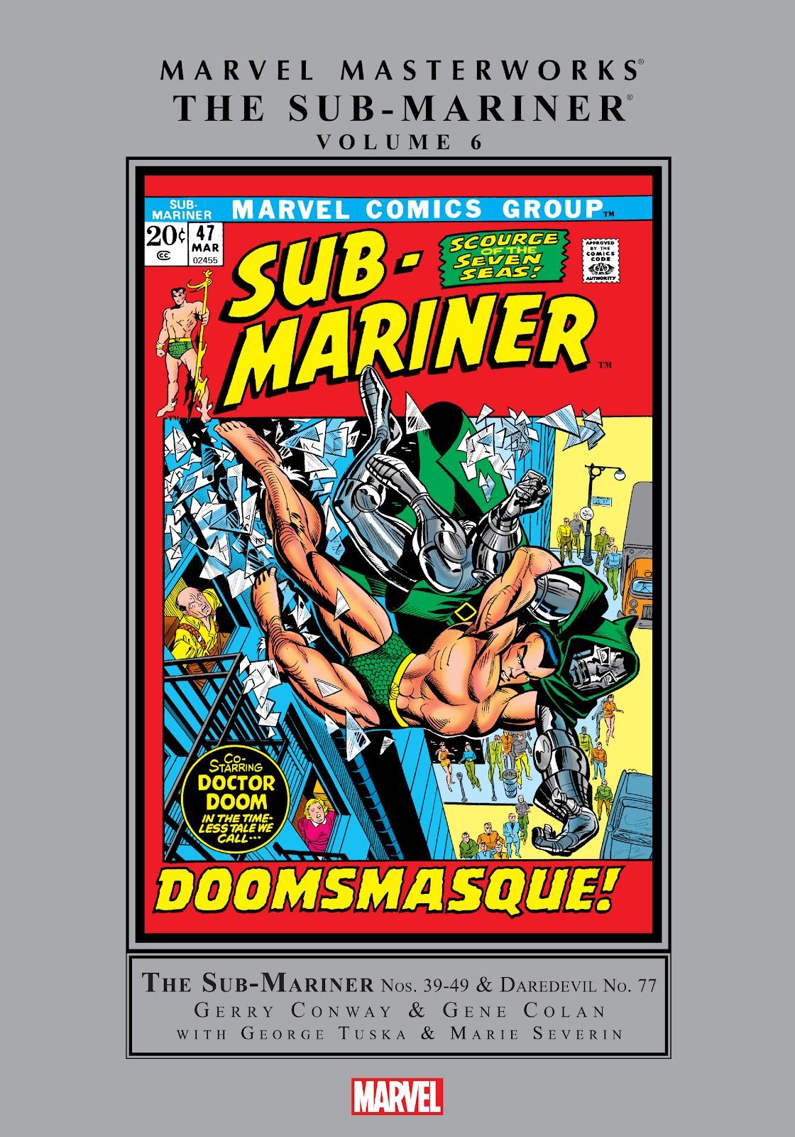 Marvel Masterworks: The Sub-Mariner TPB_6_(Part_1) Page 1