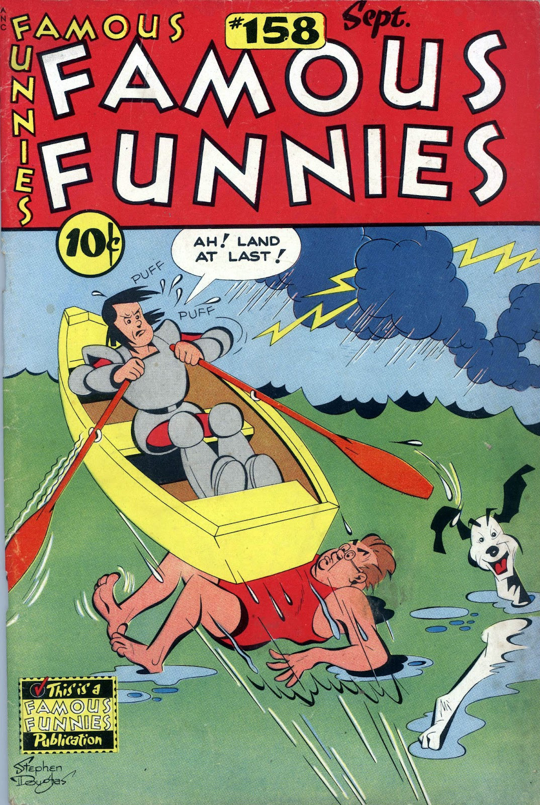 Read online Famous Funnies comic -  Issue #158 - 1