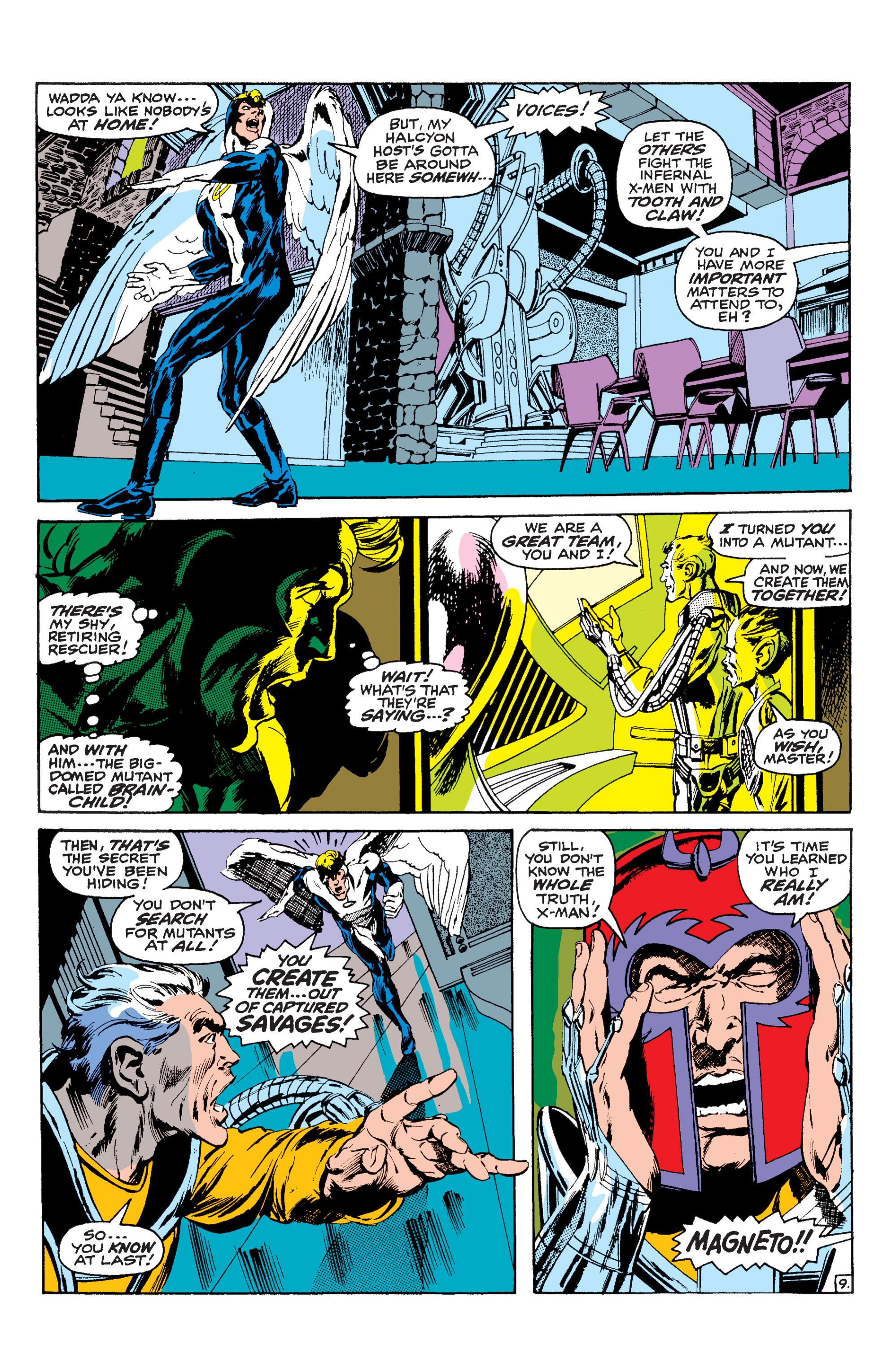Read online Uncanny X-Men (1963) comic -  Issue #63 - 10