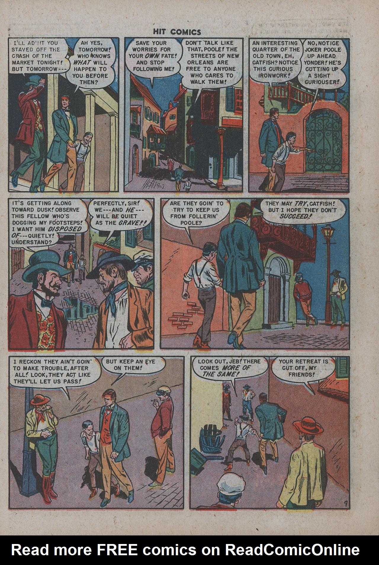 Read online Hit Comics comic -  Issue #63 - 11