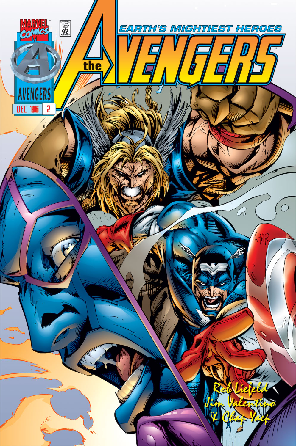 Read online Avengers (1996) comic -  Issue #2 - 1