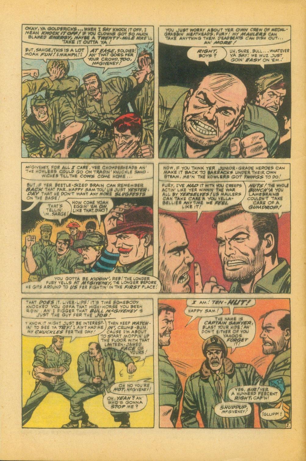 Read online Sgt. Fury comic -  Issue #99 - 4