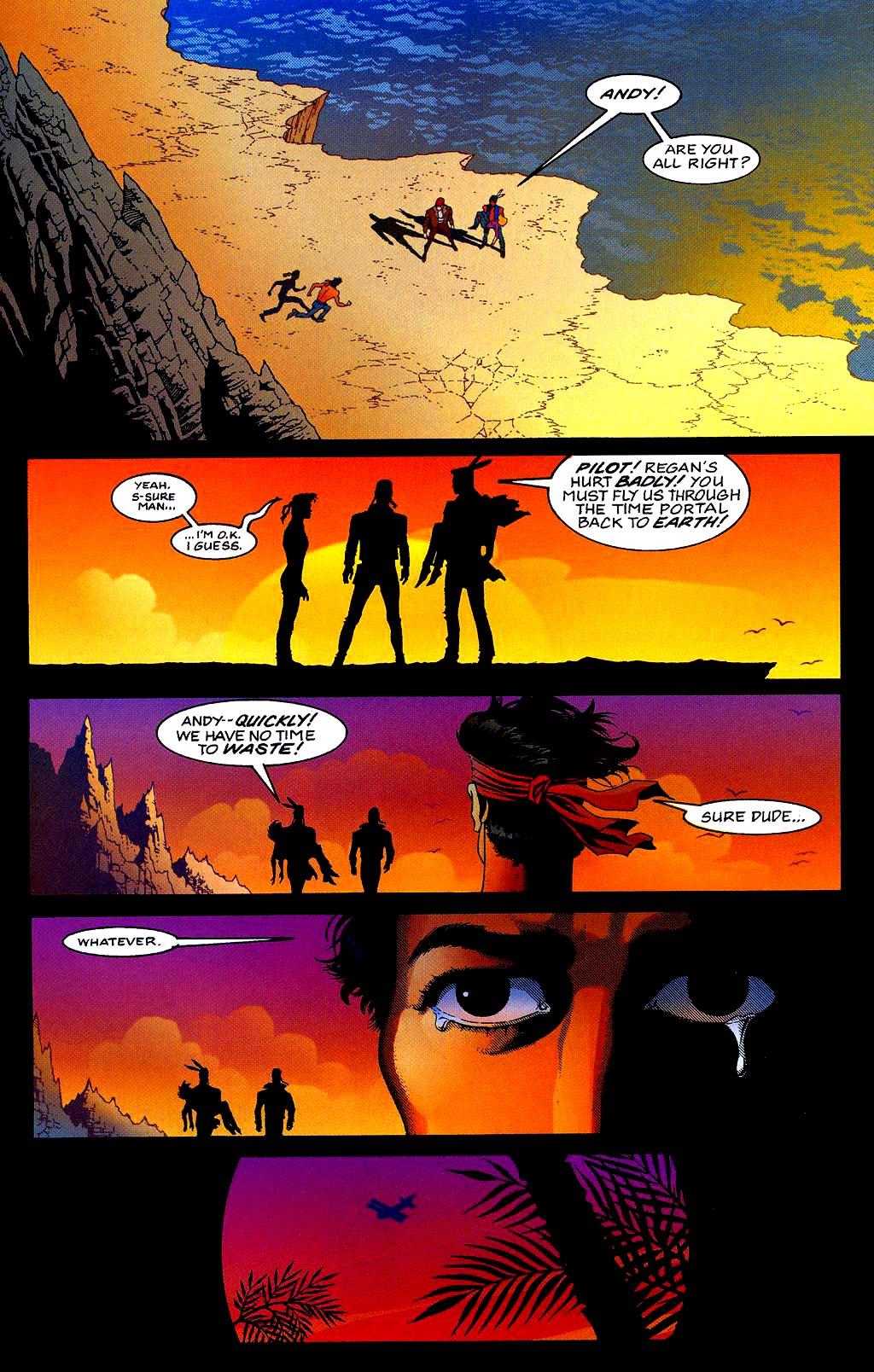 Read online Turok, Dinosaur Hunter (1993) comic -  Issue #40 - 23