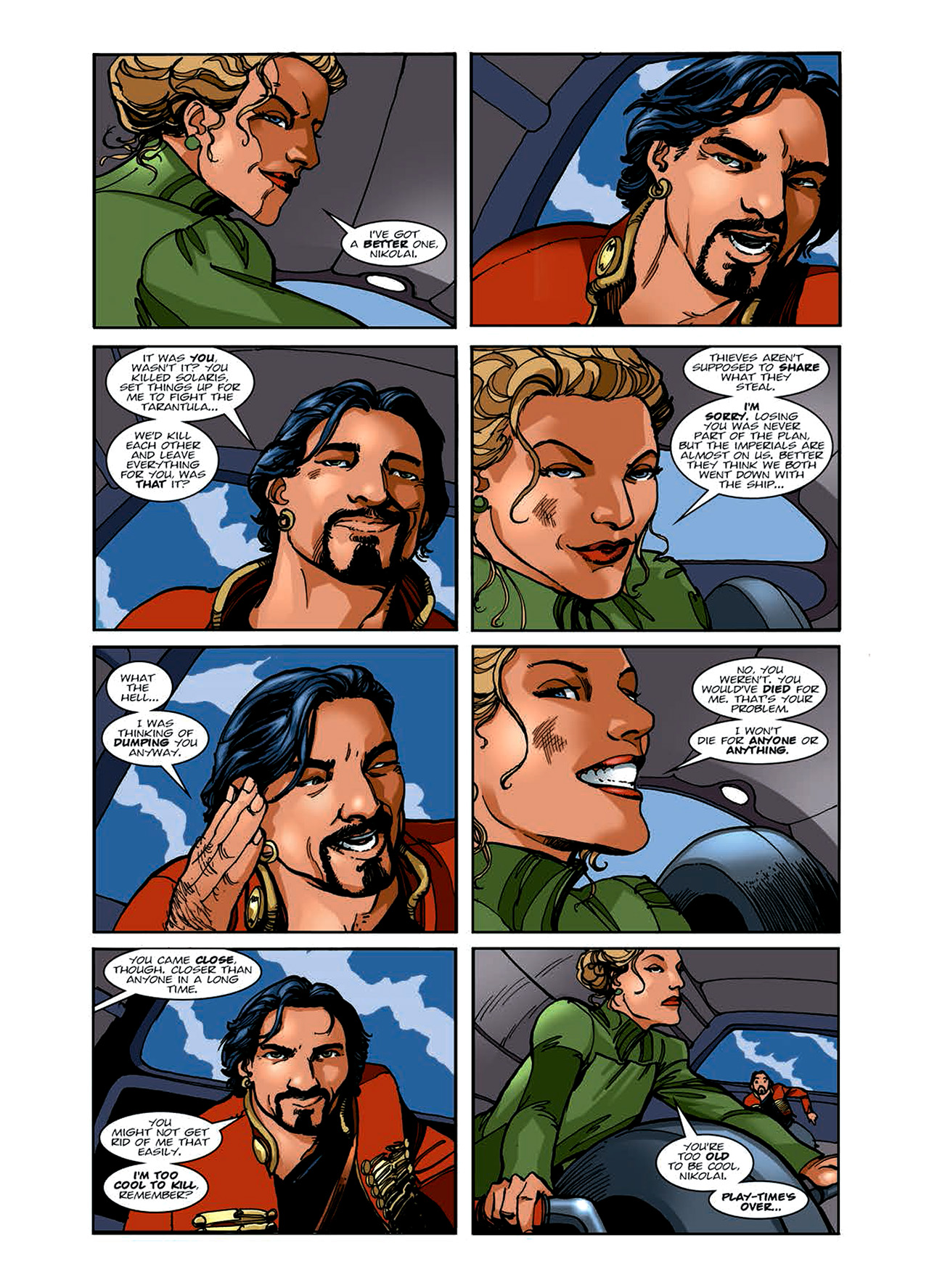 Read online Nikolai Dante comic -  Issue # TPB 6 - 77