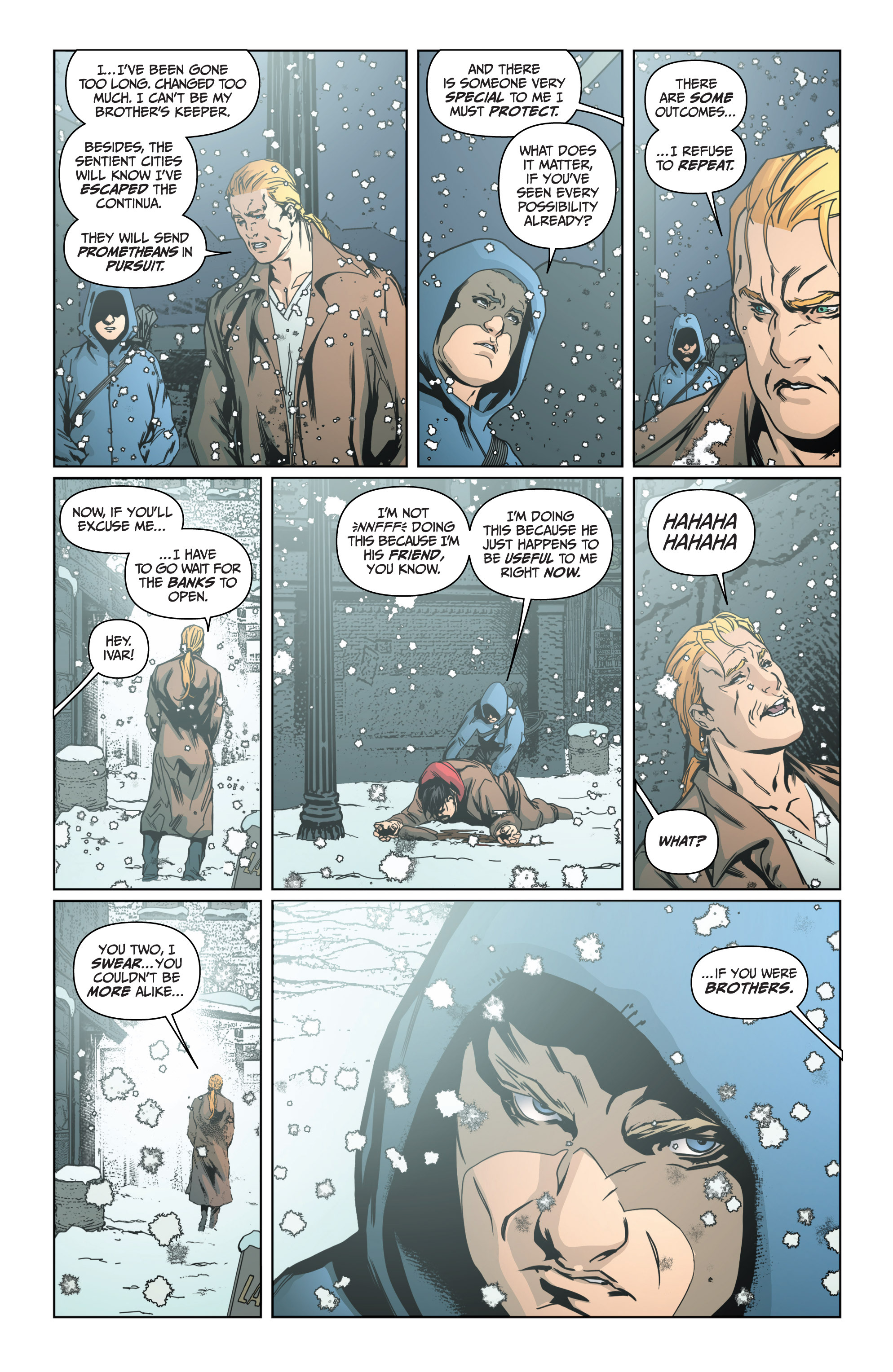 Read online Archer and Armstrong comic -  Issue #Archer and Armstrong _TPB 4 - 50