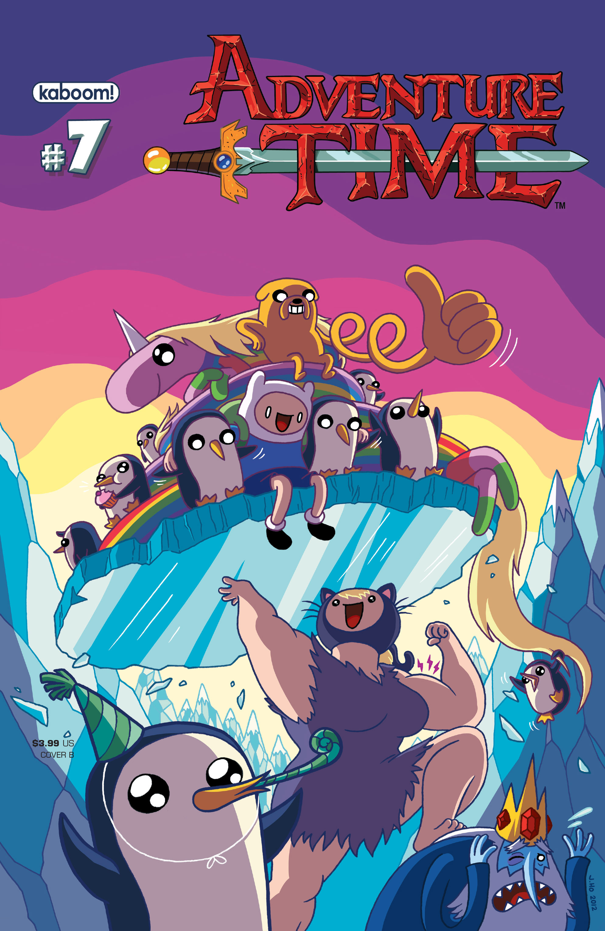 Read online Adventure Time comic -  Issue #7 - 2