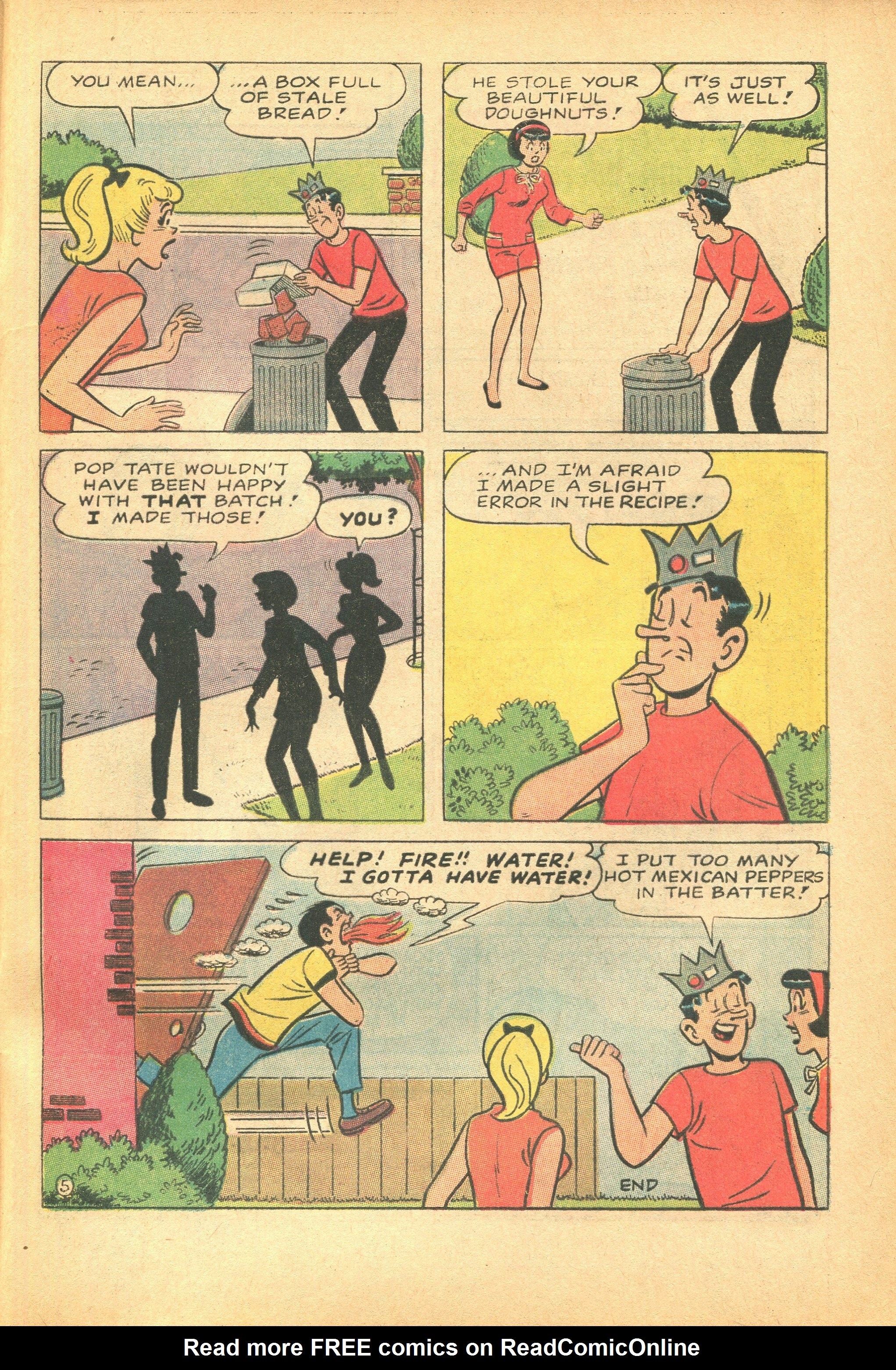 Read online Archie's Pal Jughead Comics comic -  Issue #124 - 33