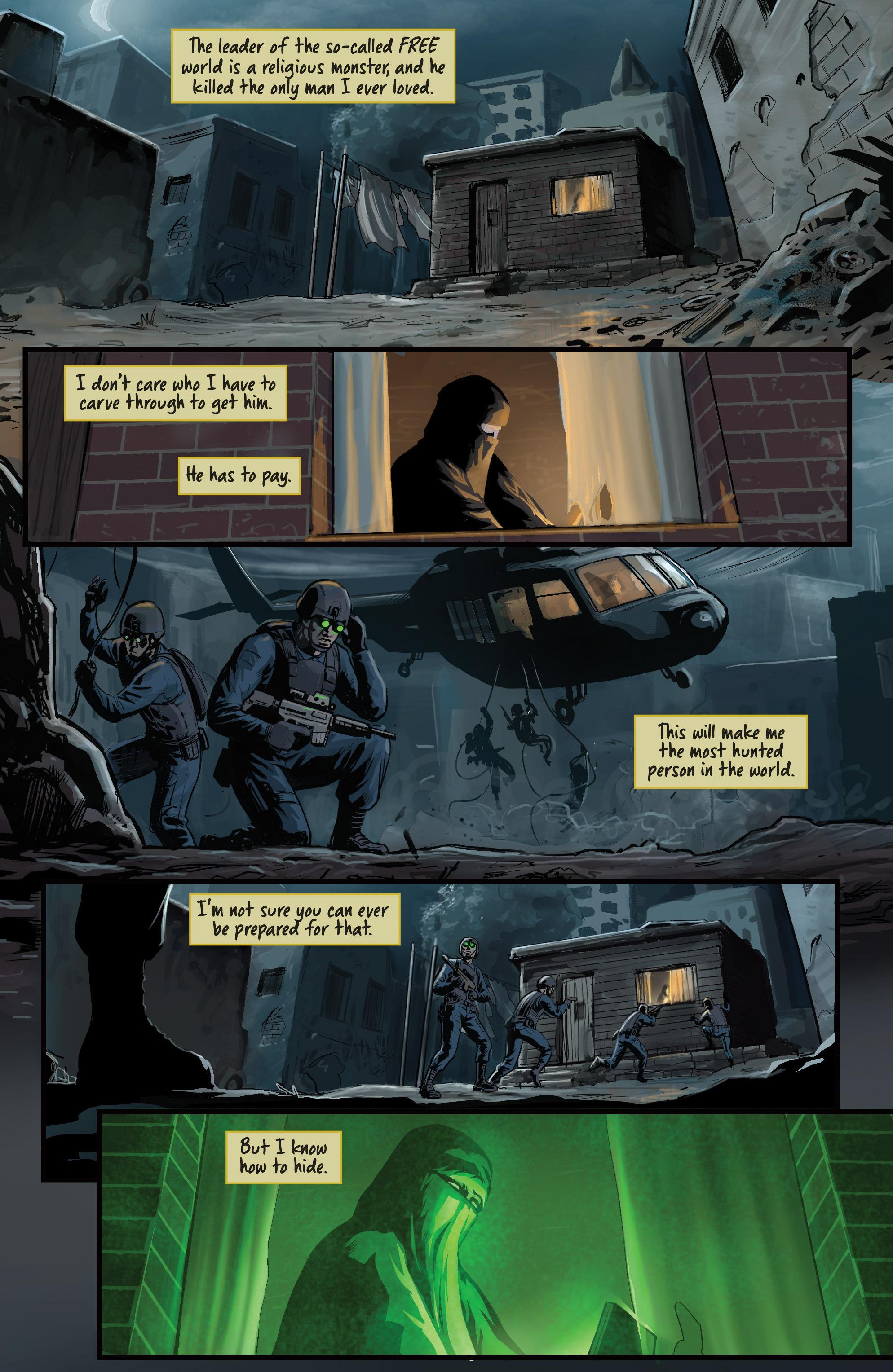 Read online Samaritan: Vertias comic -  Issue #1 - 4