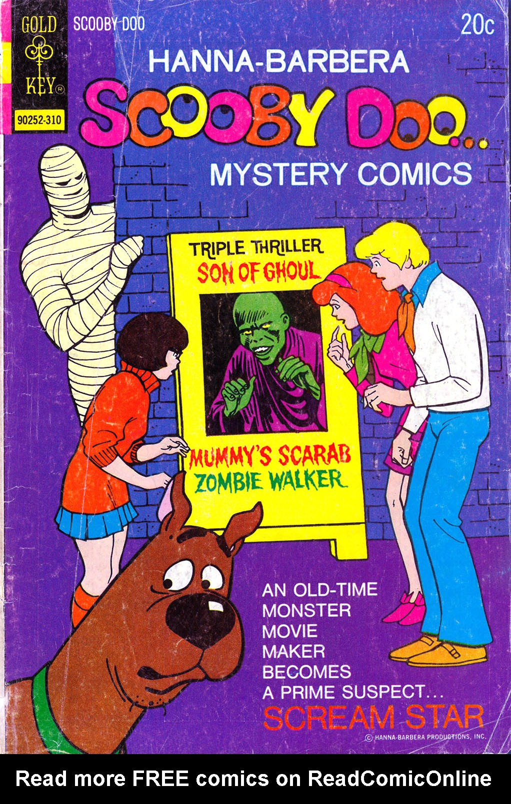 Read online Scooby-Doo... Mystery Comics comic -  Issue #21 - 1