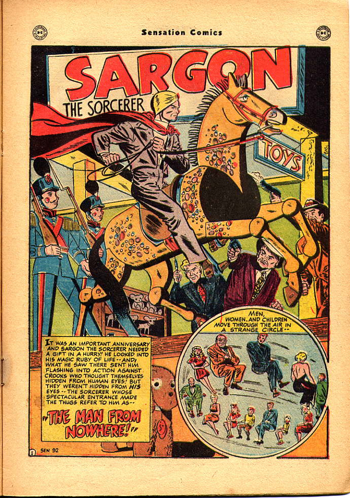 Read online Sensation (Mystery) Comics comic -  Issue #83 - 17