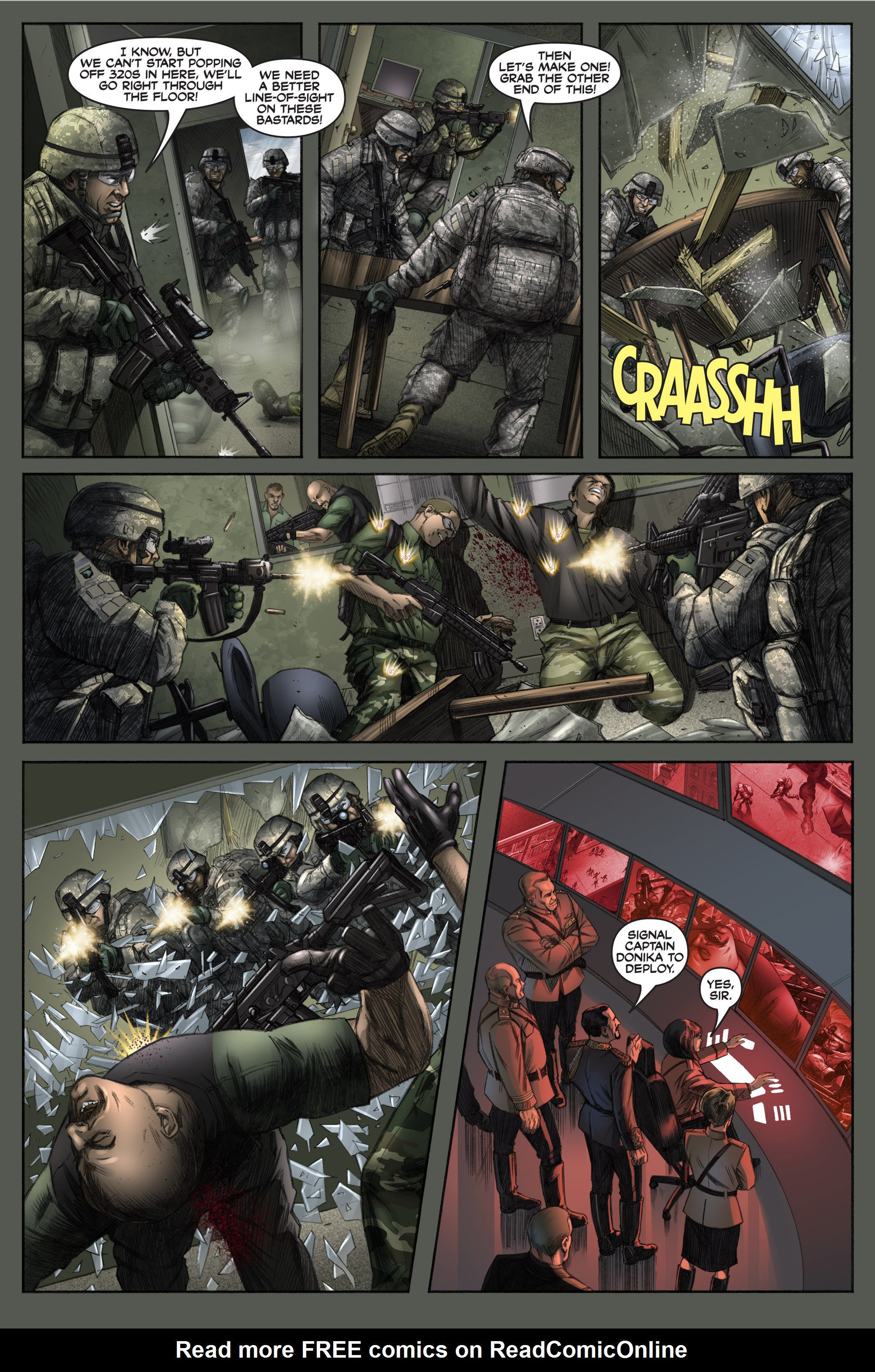 Read online America's Army comic -  Issue #6 - 19