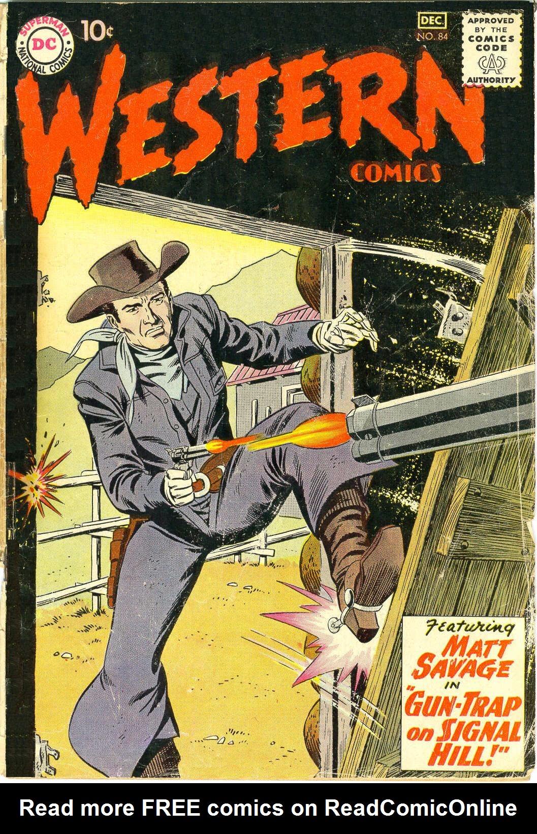 Western Comics 84 Page 1