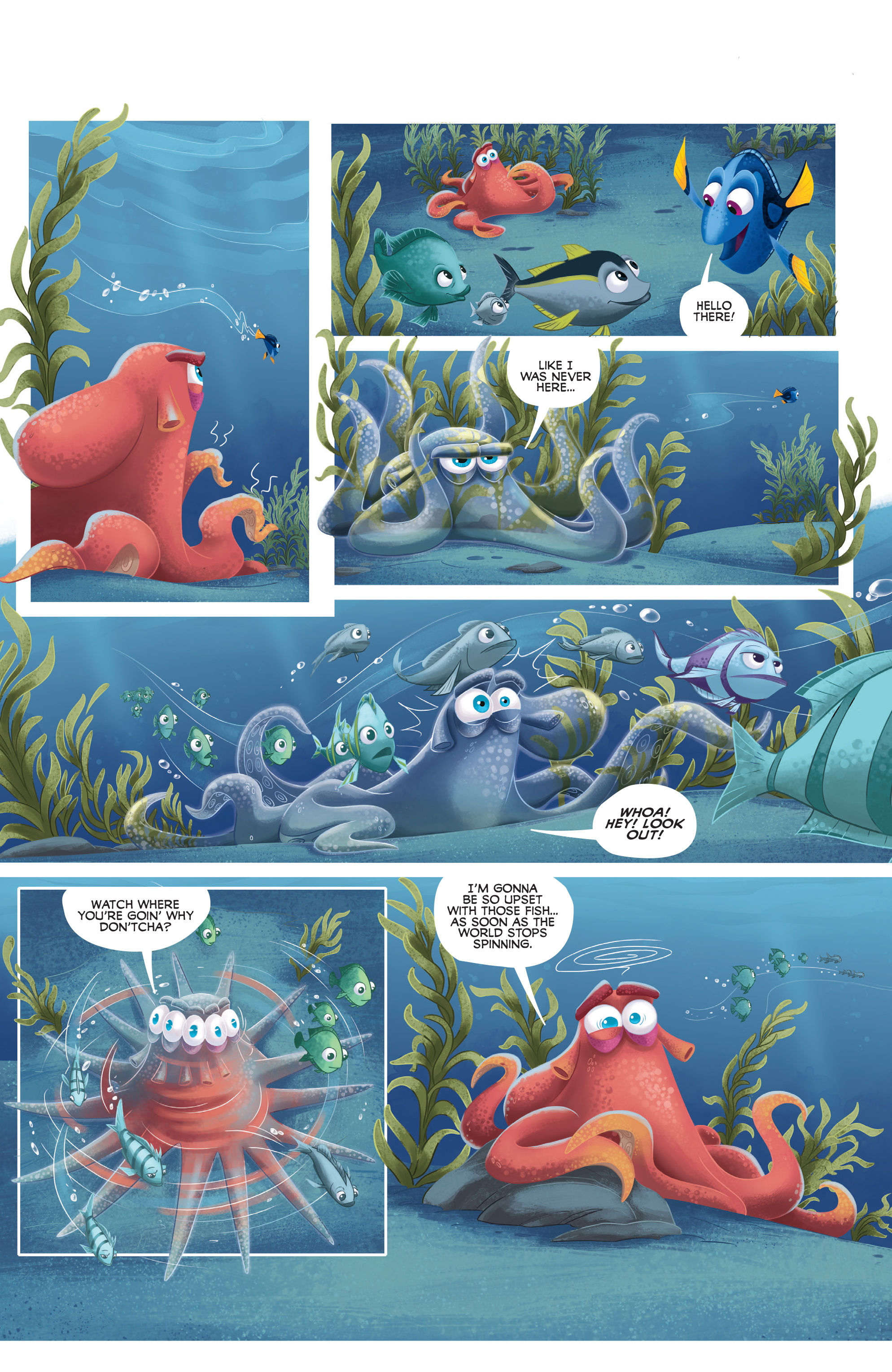 Read online Disney Pixar Finding Dory comic -  Issue #4 - 30
