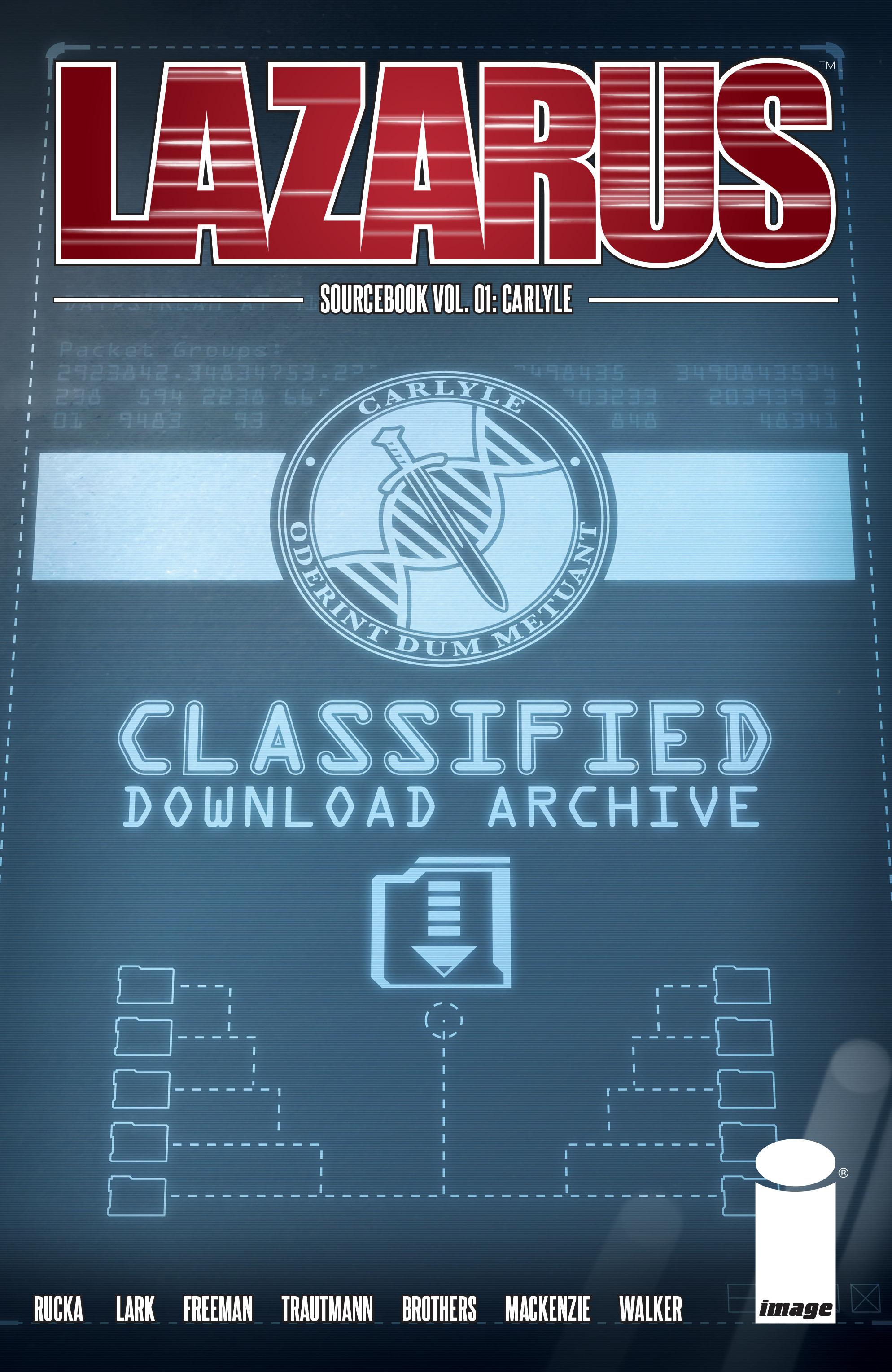 Read online Lazarus Sourcebook comic -  Issue # Vol. 1 - 1