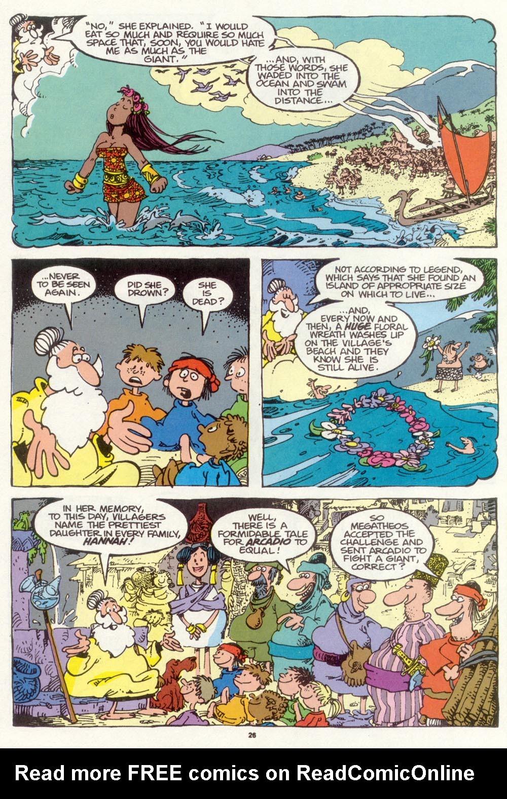 Read online Sergio Aragonés Groo the Wanderer comic -  Issue #97 - 27