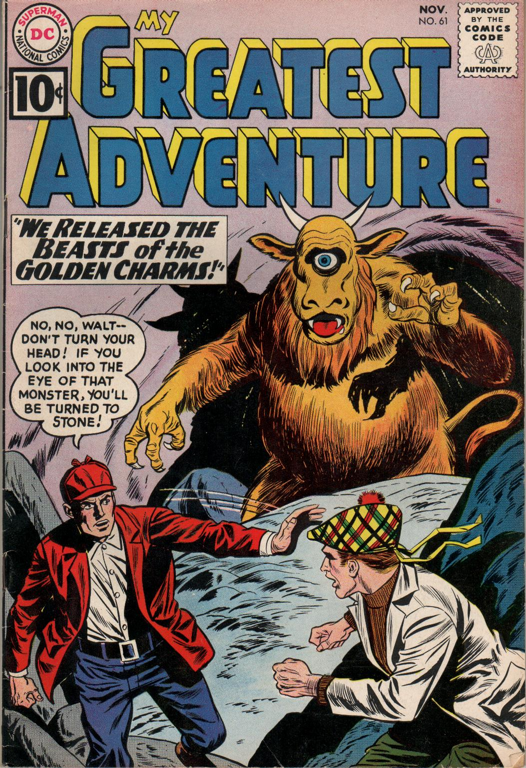My Greatest Adventure (1955) issue 61 - Page 1