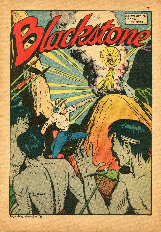 Read online Super-Magician Comics comic -  Issue #9 - 3