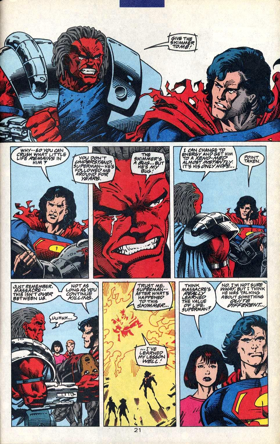 Read online Adventures of Superman (1987) comic -  Issue #515 - 23