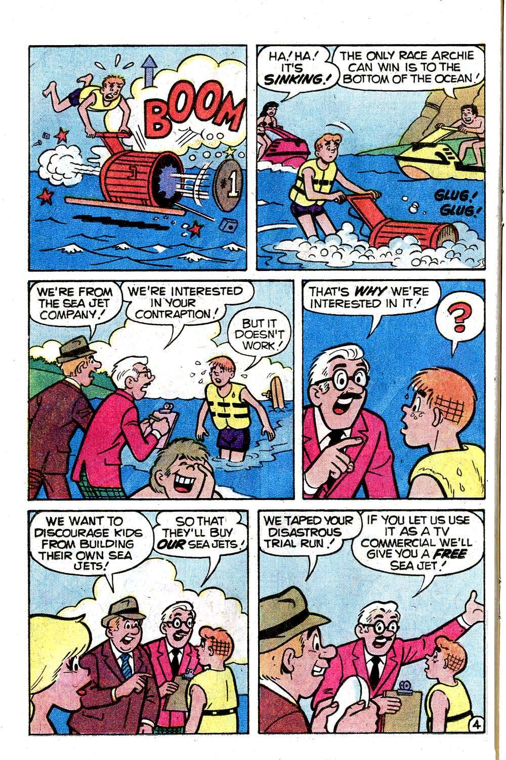 Read online Archie (1960) comic -  Issue #285 - 16